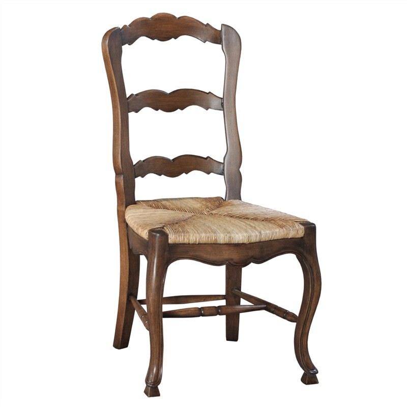 Margorie Solid Mahogany Timber Dining Chair, Antique Oak