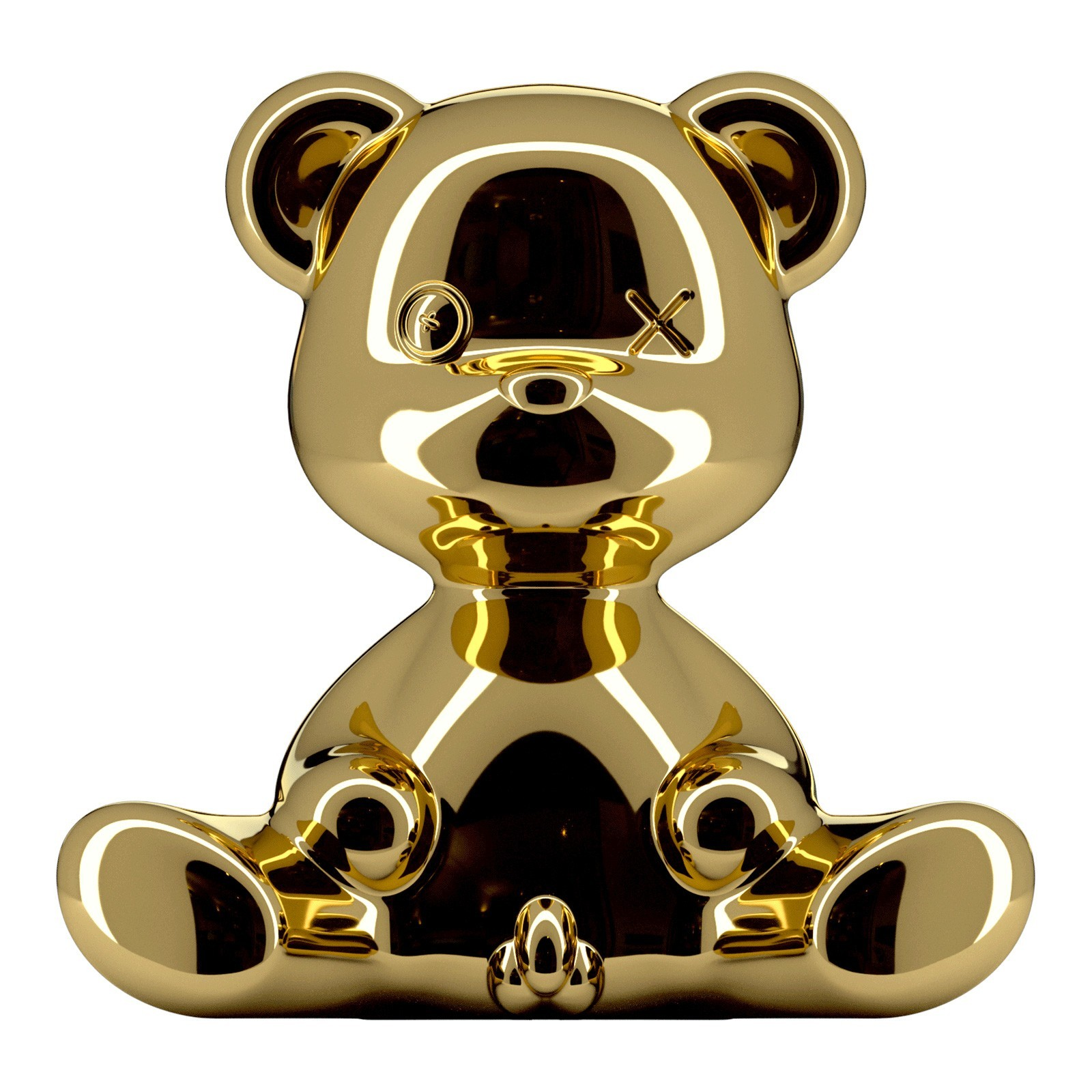 Qeeboo Teddy Boy Table Lamp, Gold