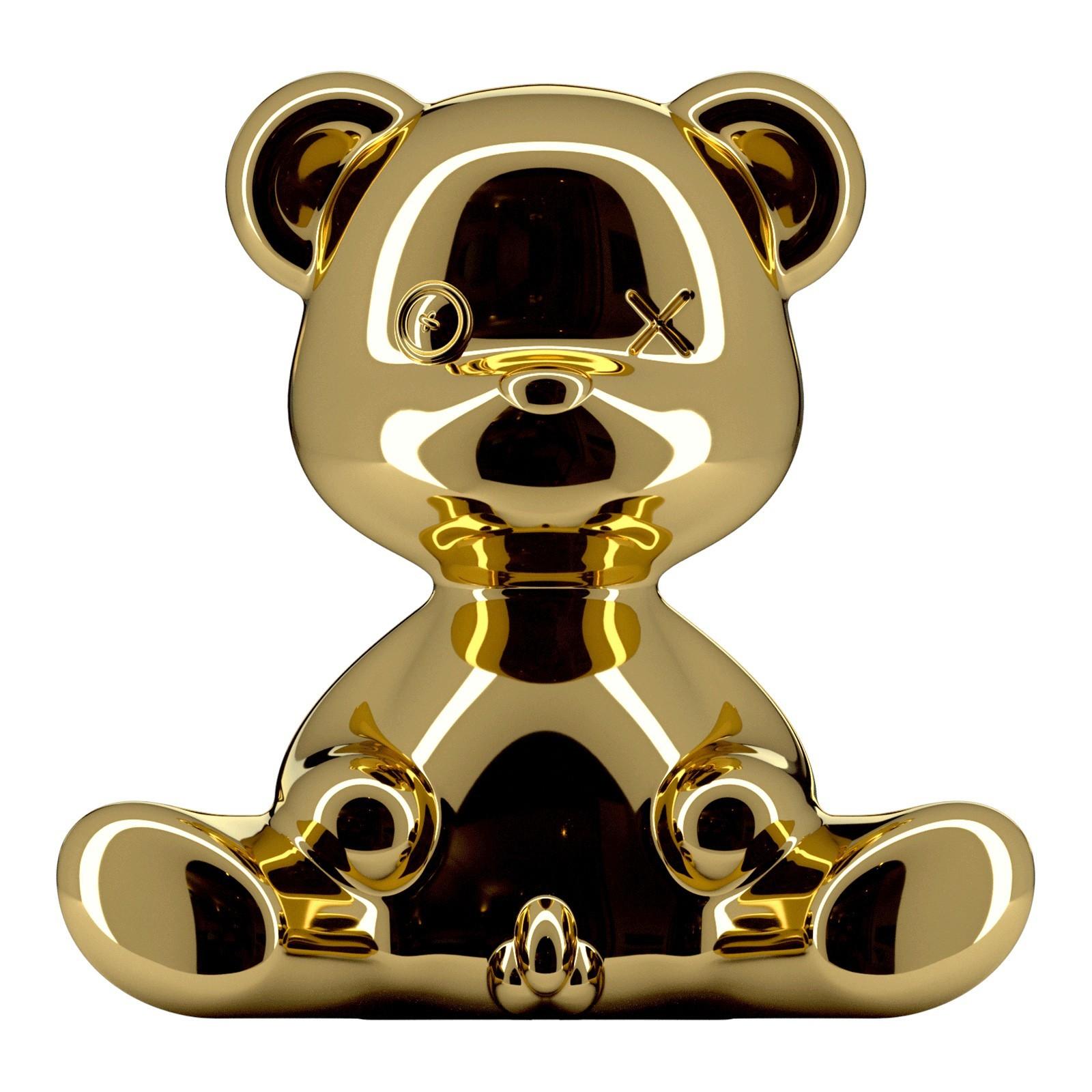 Qeeboo Teddy Boy Table Lamp, Gold