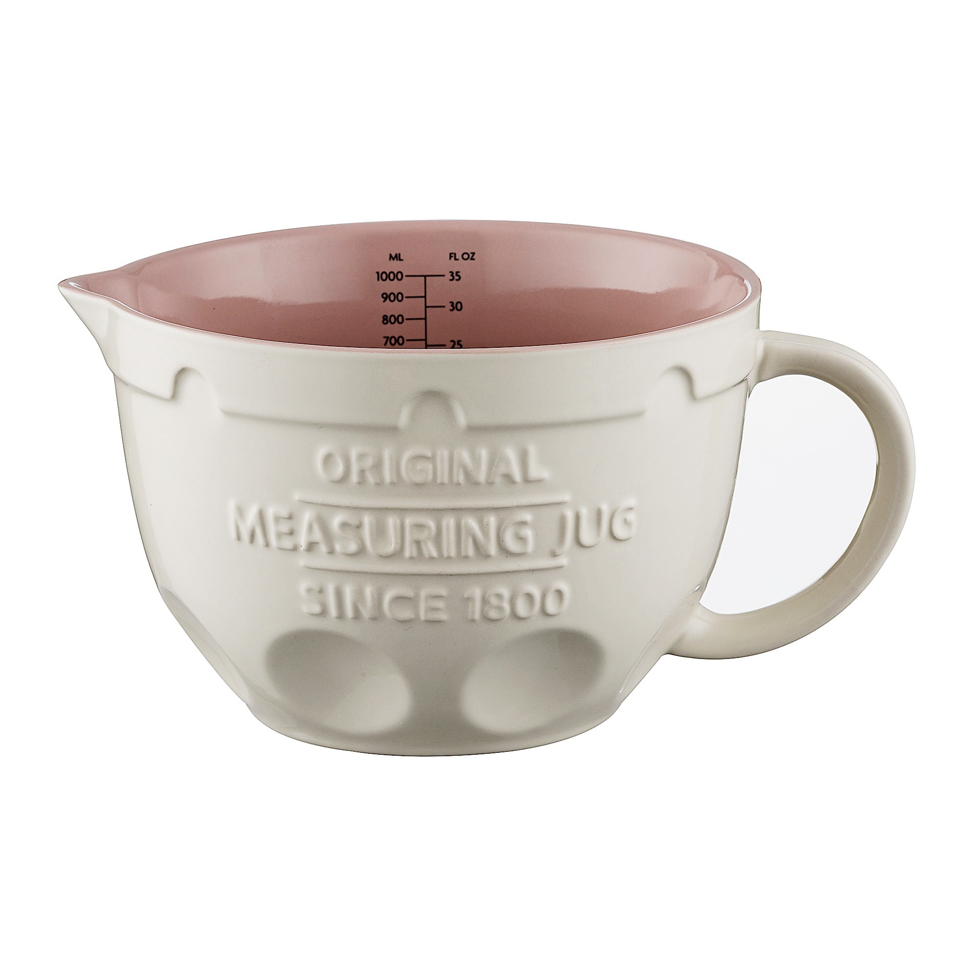 Mason Cash Ceramic Measuring Jug, 1 Litre