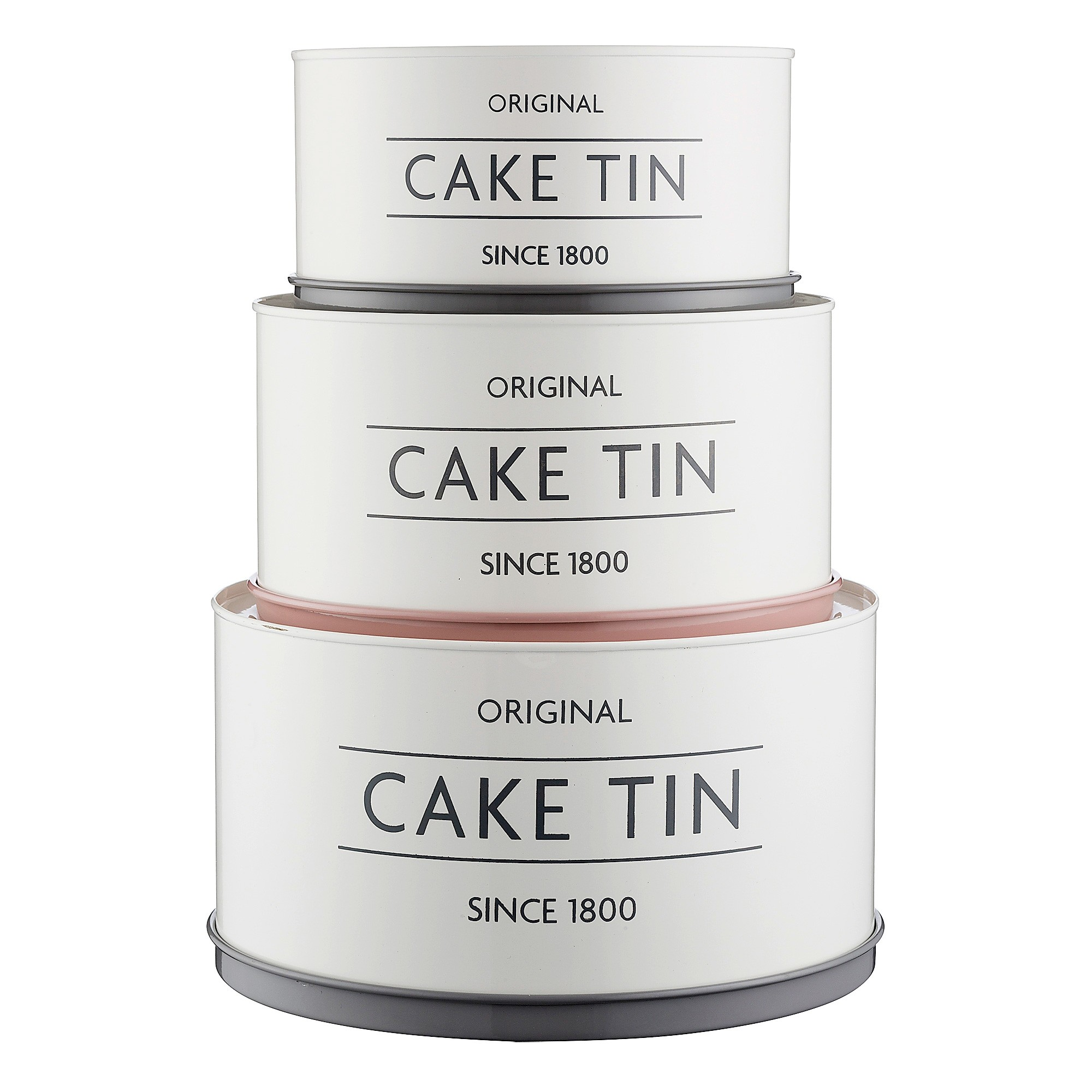 Mason Cash 3 Piece Cake Tin Set