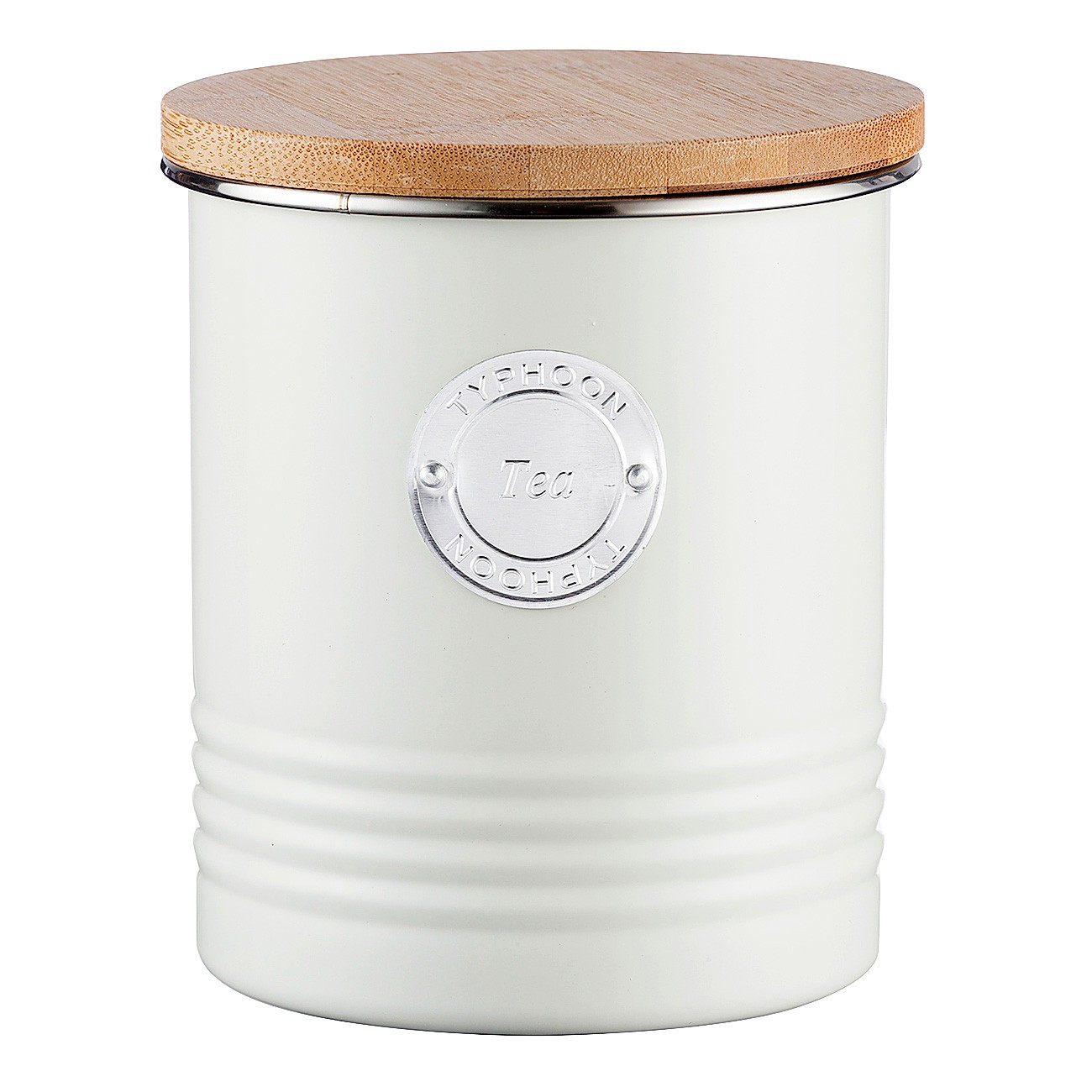 Typhoon Living Tea Canister, 1 Litre, Cream