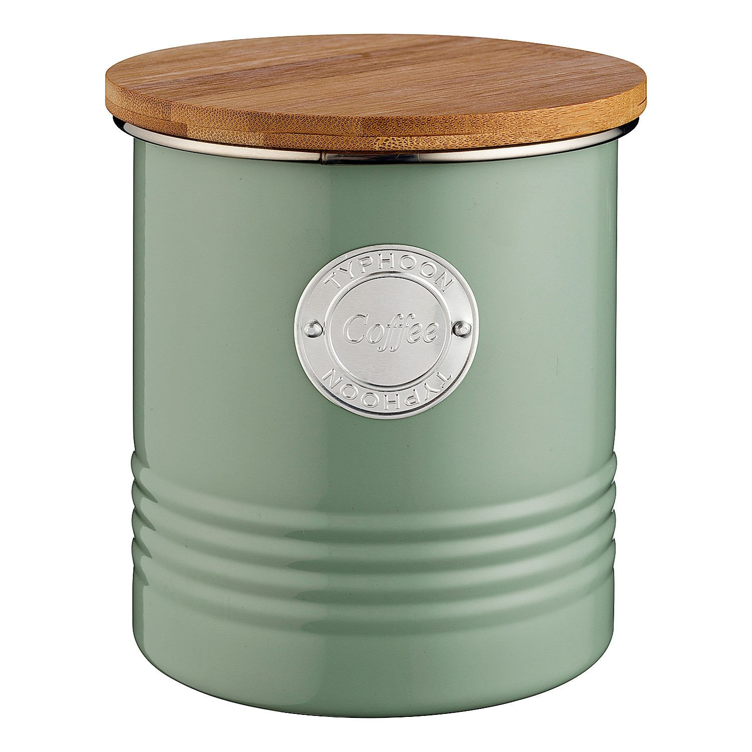 Typhoon Living Coffee Canister, 1 Litre, Sage
