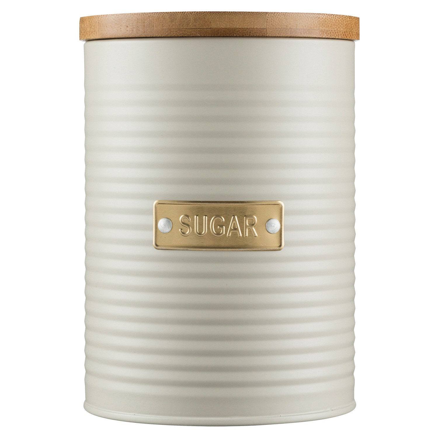 Typhoon Otto Sugar Canister, 1.4 Litre, Oatmeal