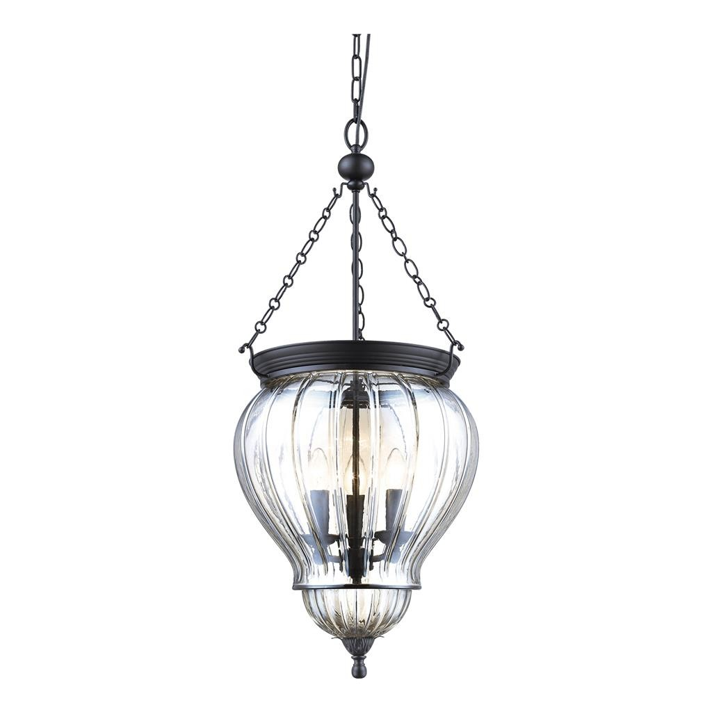 Diana Glass Lantern Pendant Light