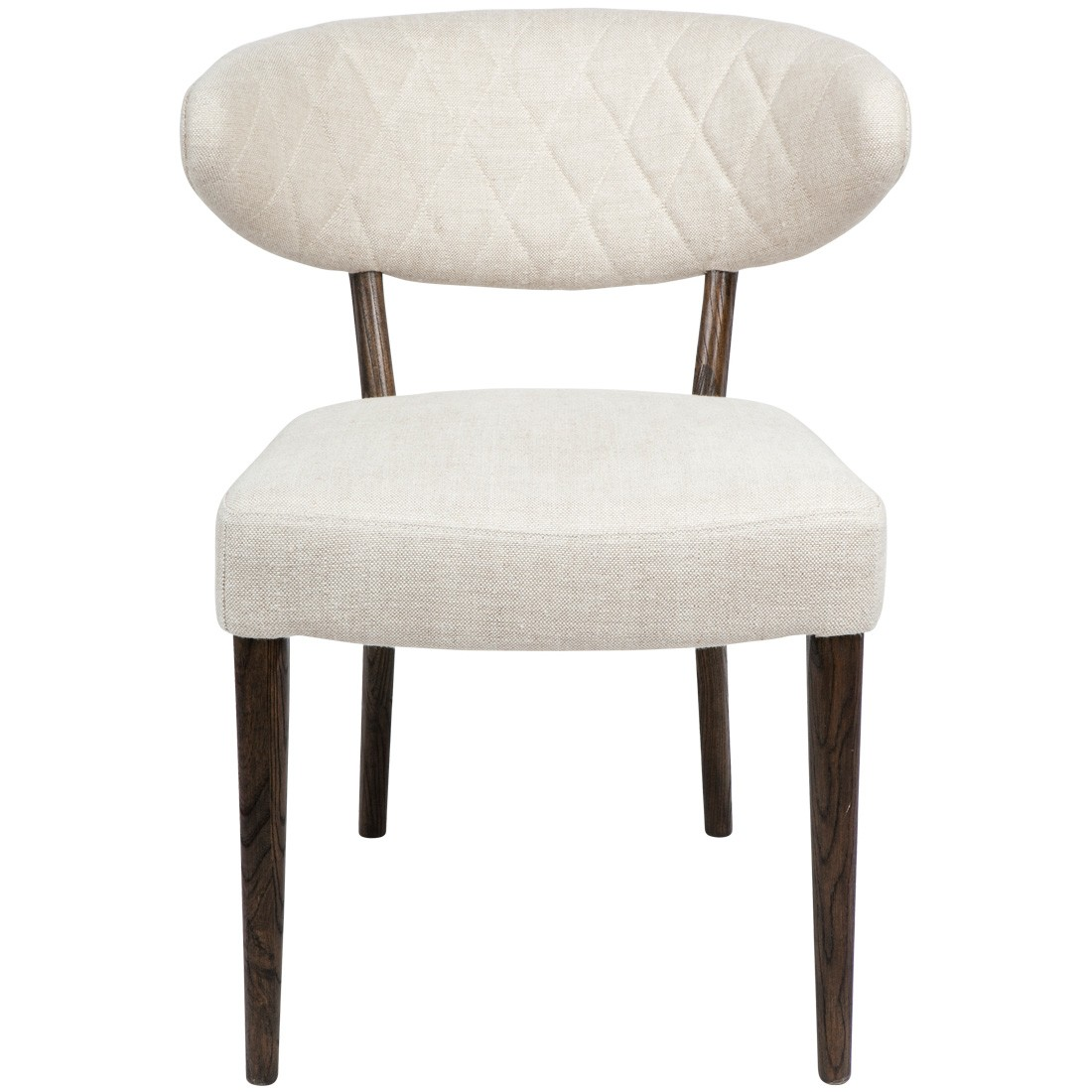 Clark Linen Fabric Dining Chair