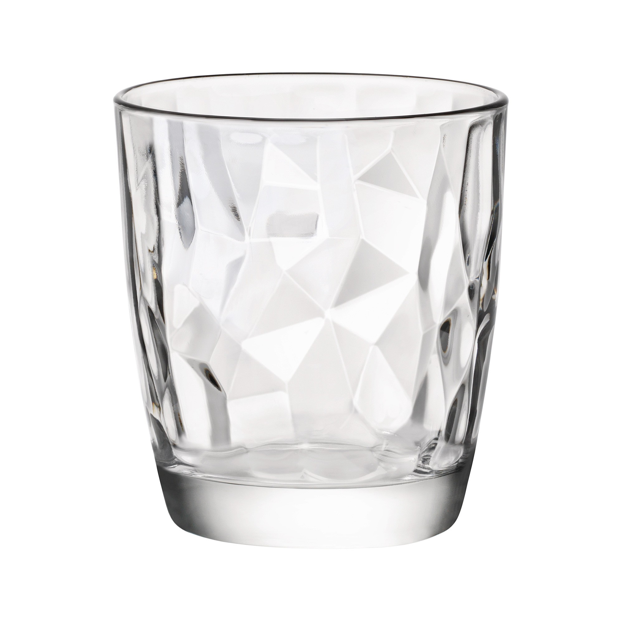 Bormioli Rocco Diamond Water Tumblers, Set of 6