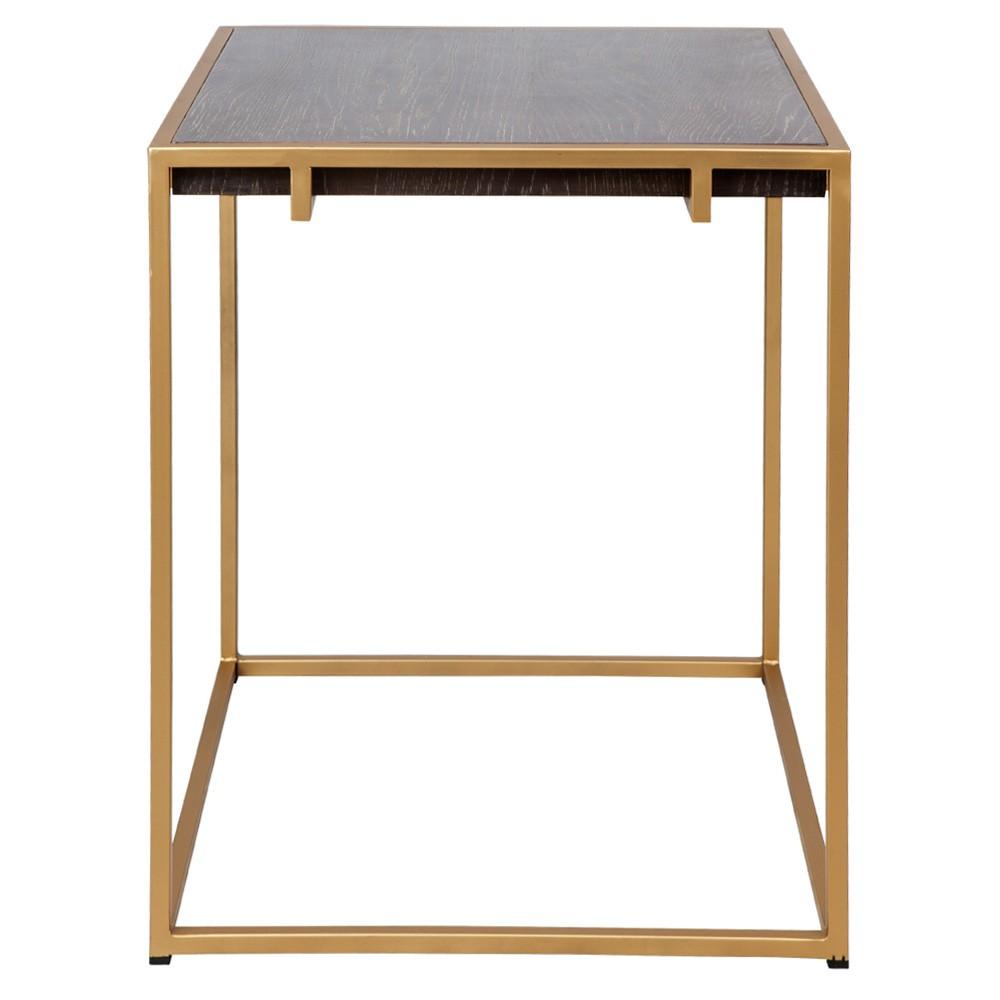 Salvador Oak Timber Top Side Table