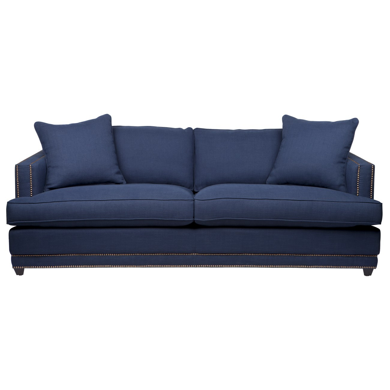Darling 3 Seater Fabric Sofa, Navy