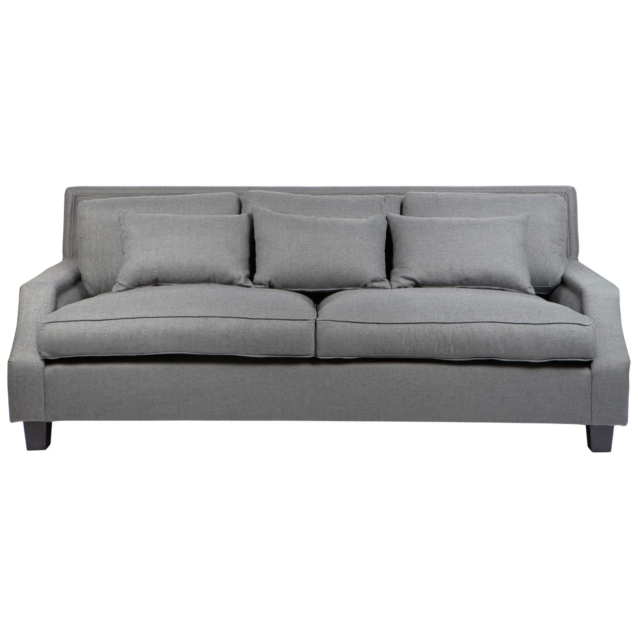 Riley Fabric 3 Seater Sofa, Grey