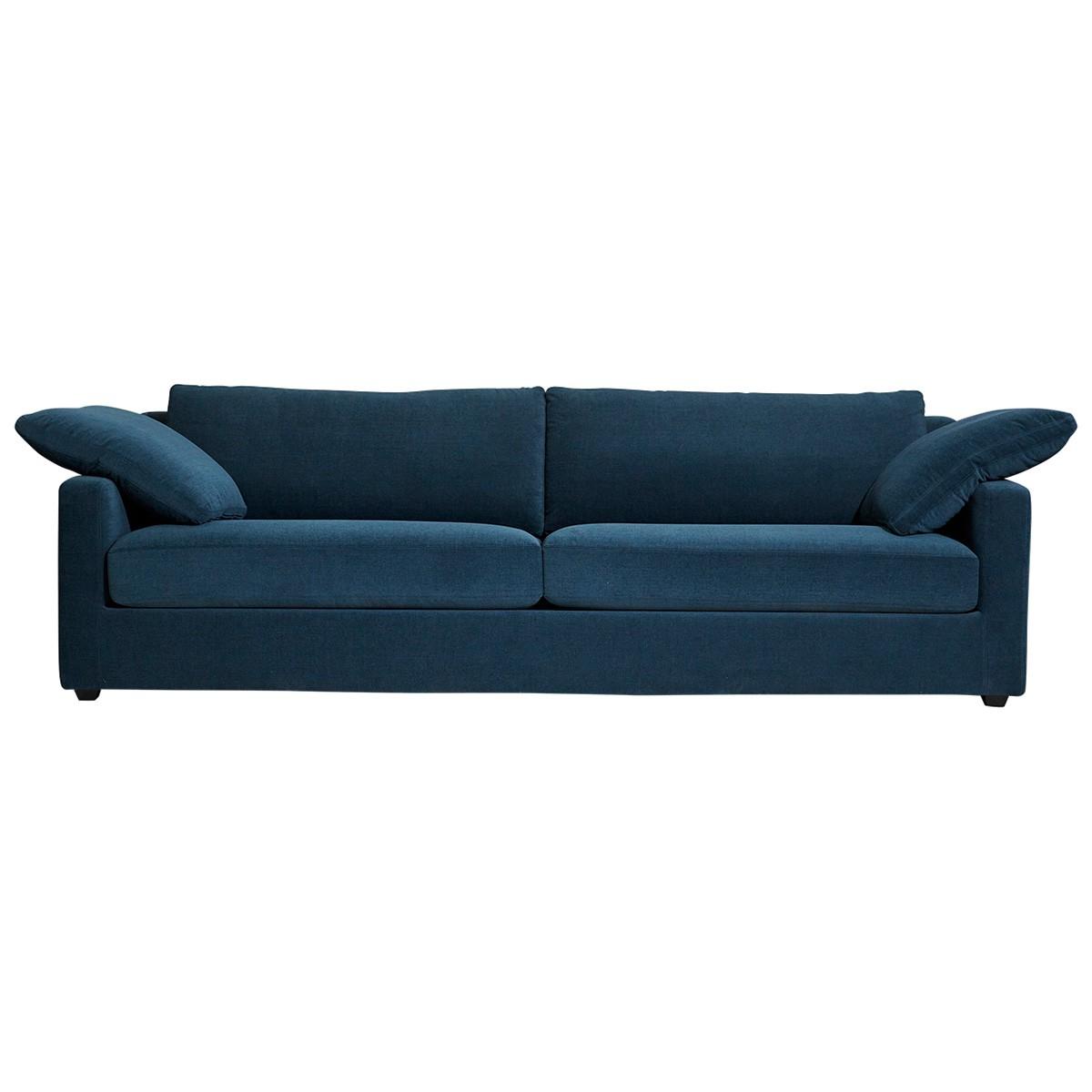 California Chenille Fabric Sofa, 3 Seater