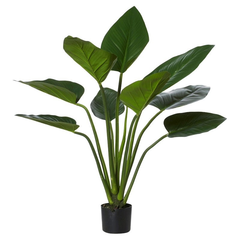 Potted Artificial Green Kingdom Plant, Type A, 90cm