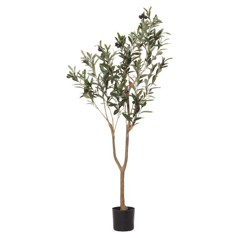 Potted Artificial Olive Tree, 150cm