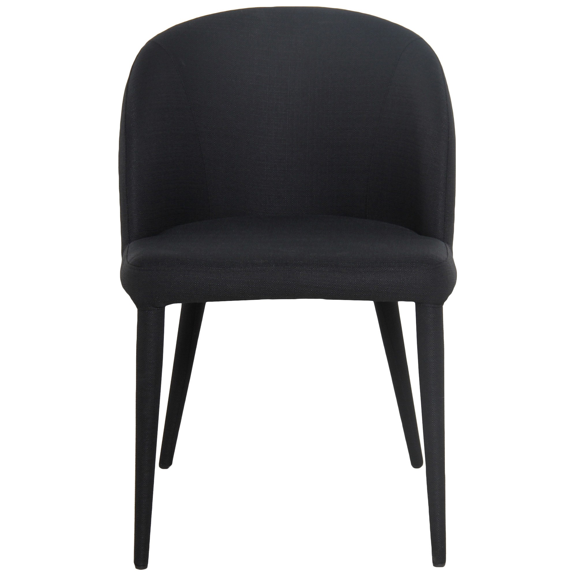 Paltrow Fabric Dining Chair, Black