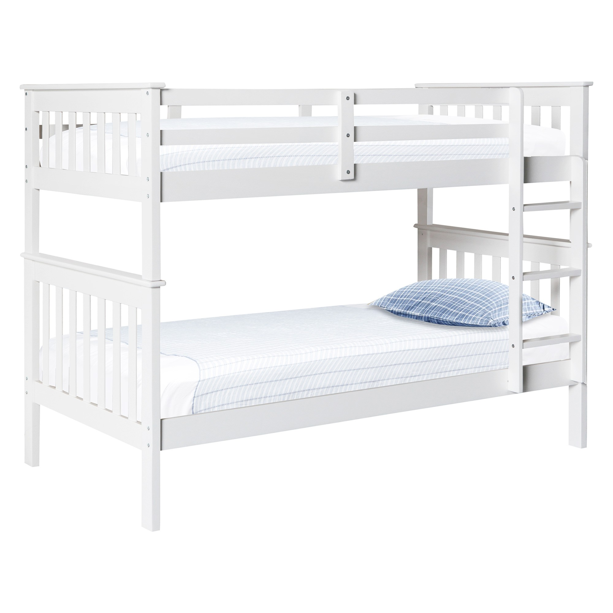 Retro Wooden Bunk Bed, Single
