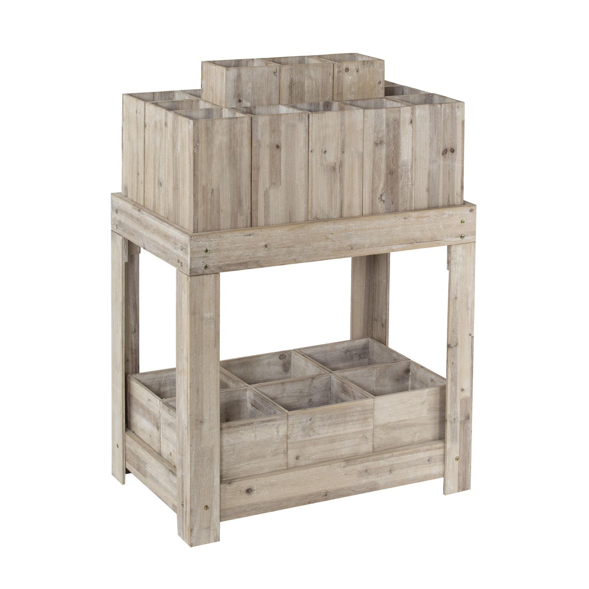 Gerrard Wooden Stem Display Unit