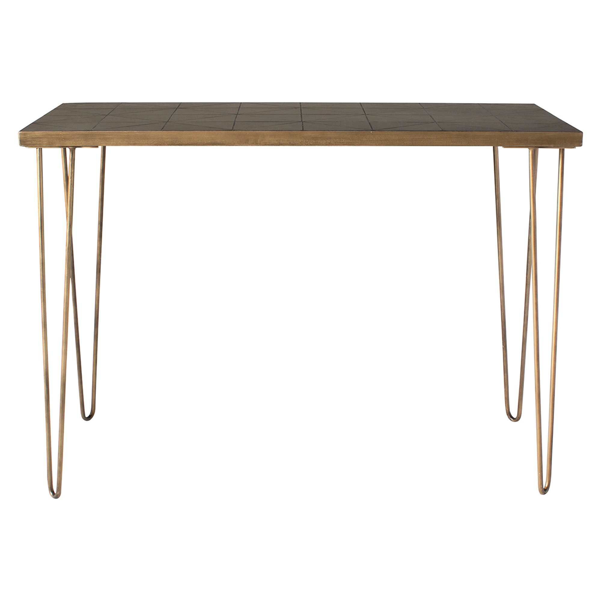Pompeii Ceramic Tile Top Console Table, 110cm