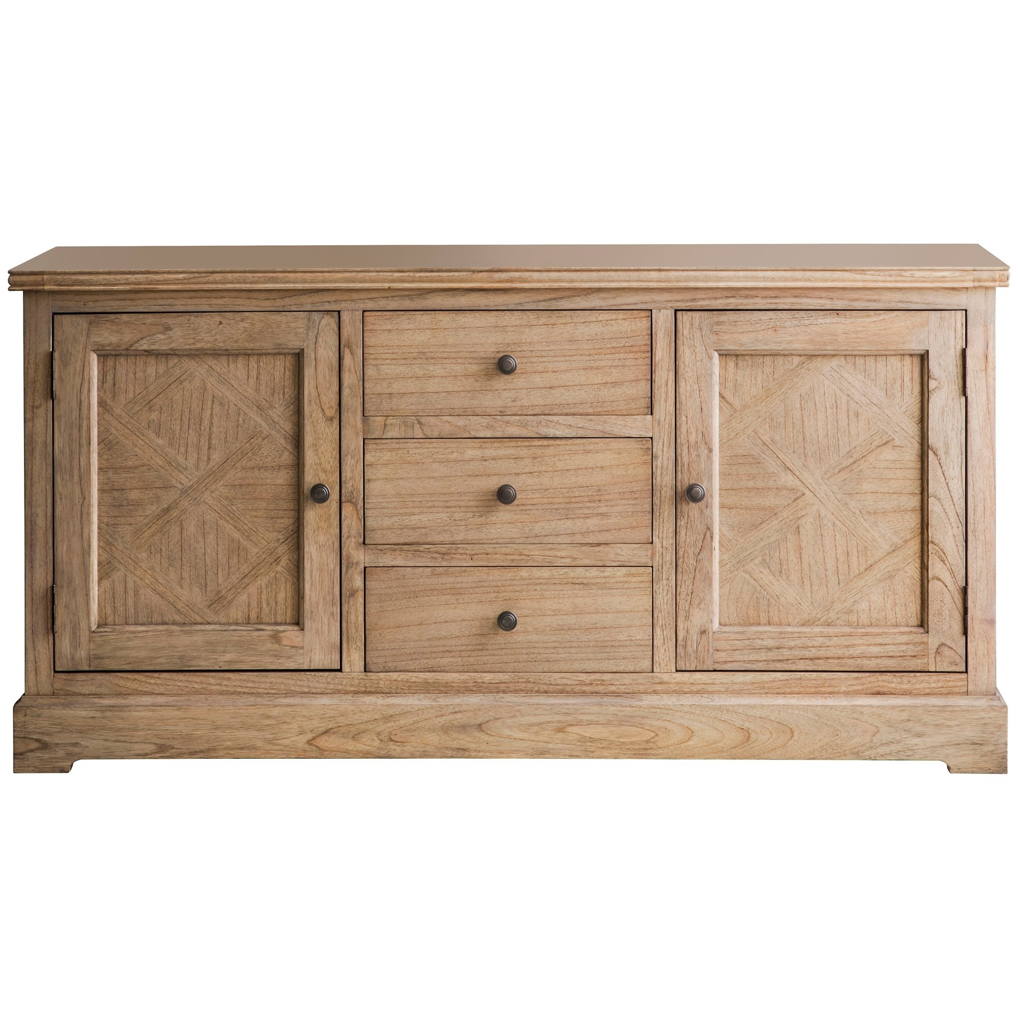 Mirren Solid Mindi Wood Sideboard