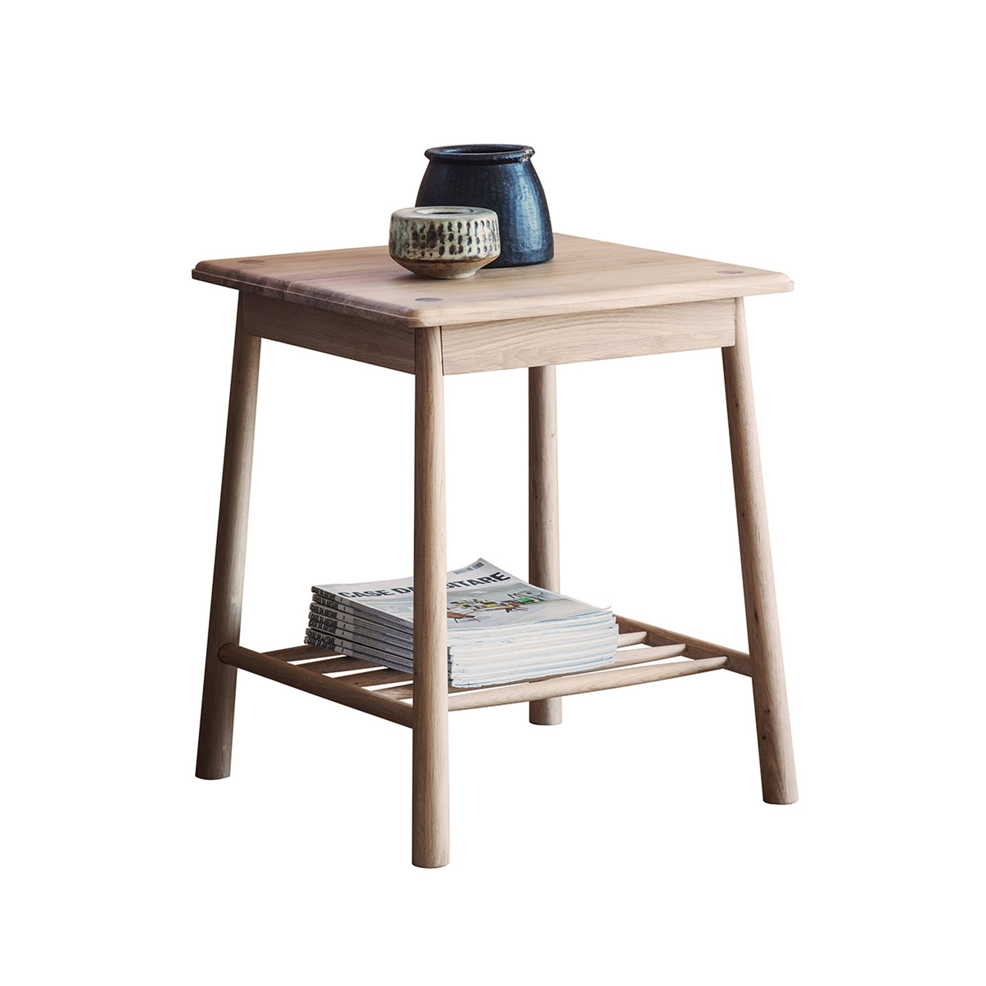Wycombe Oak Timber Side Table