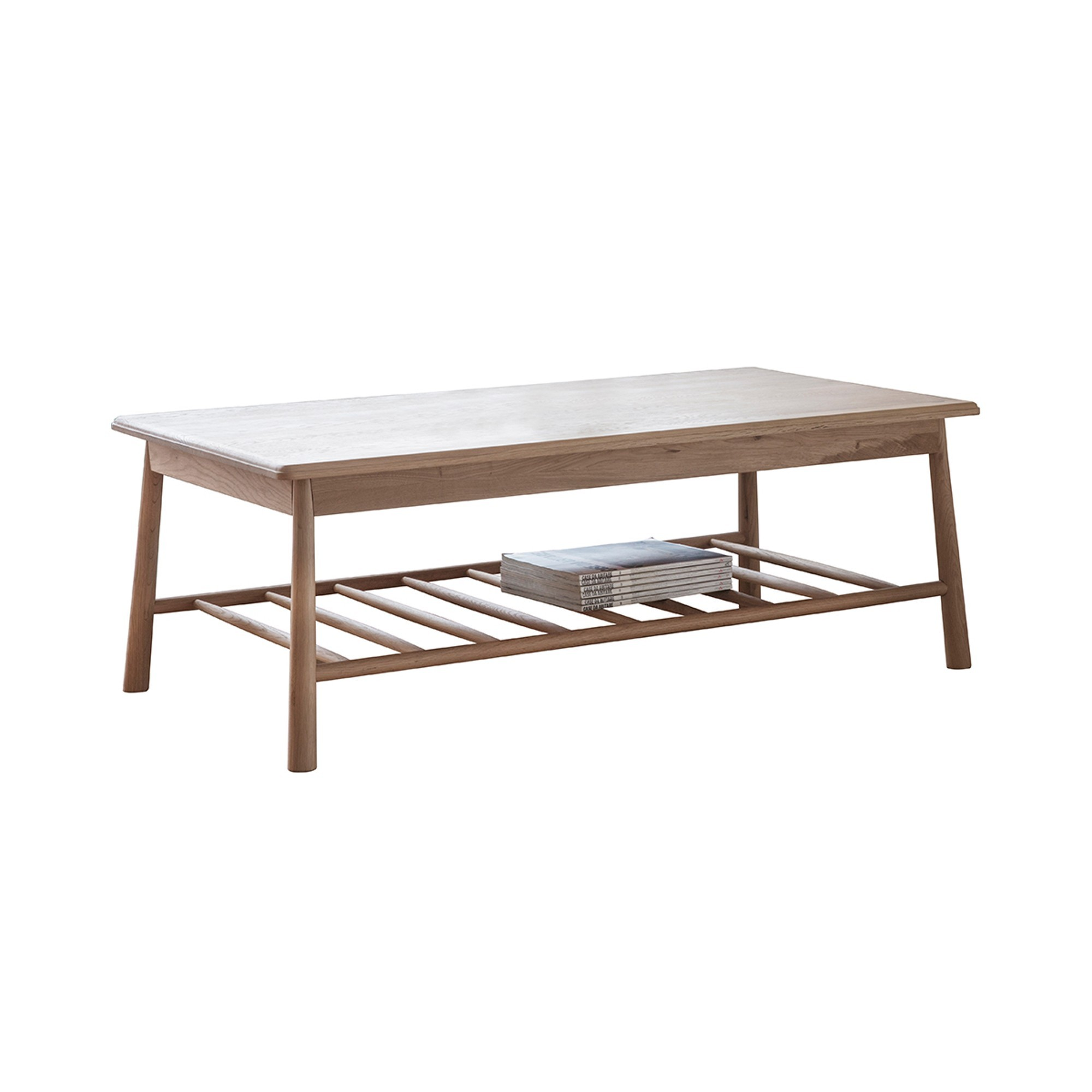 Wycombe Oak Timber Coffee Table, 120cm