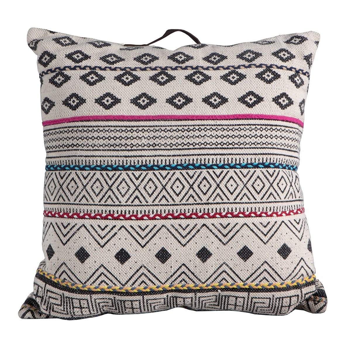 Carly Printed Cotton Floor Cushion