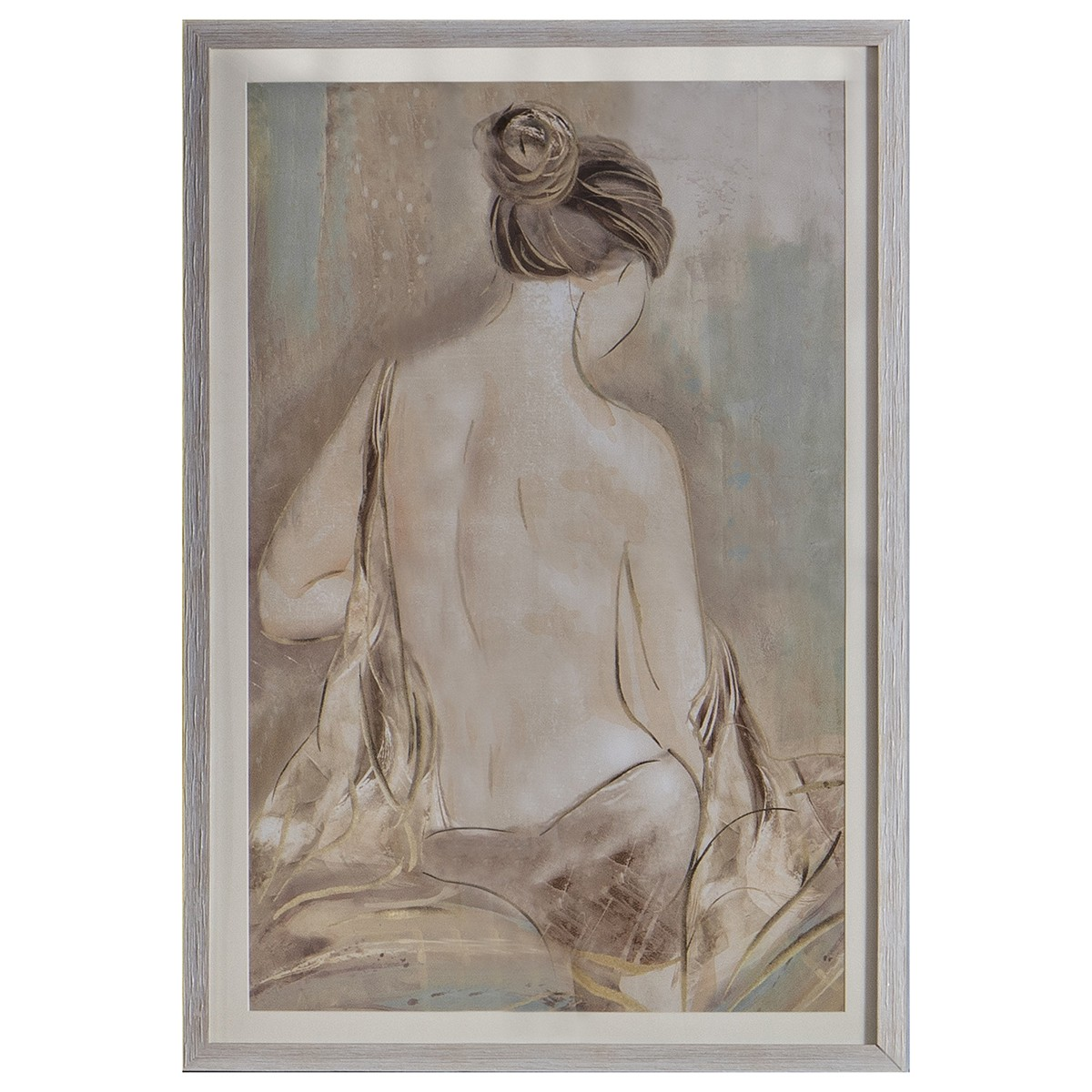 Contemplation Life Study I Framed Wall Art, 94cm