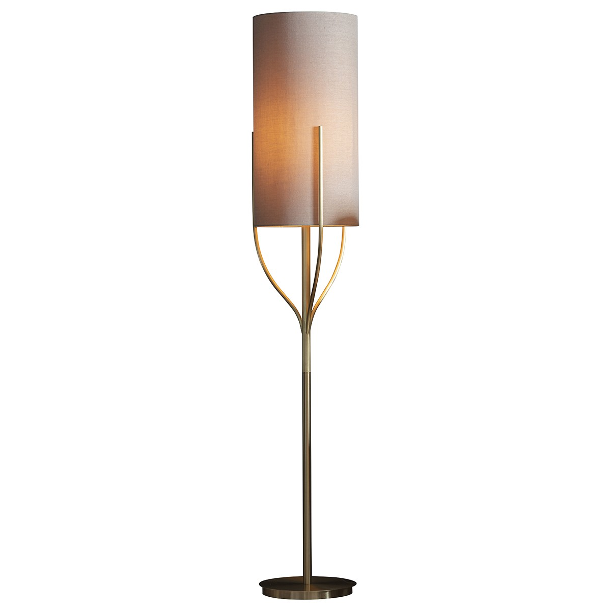 Kian Steel Base Floor Lamp