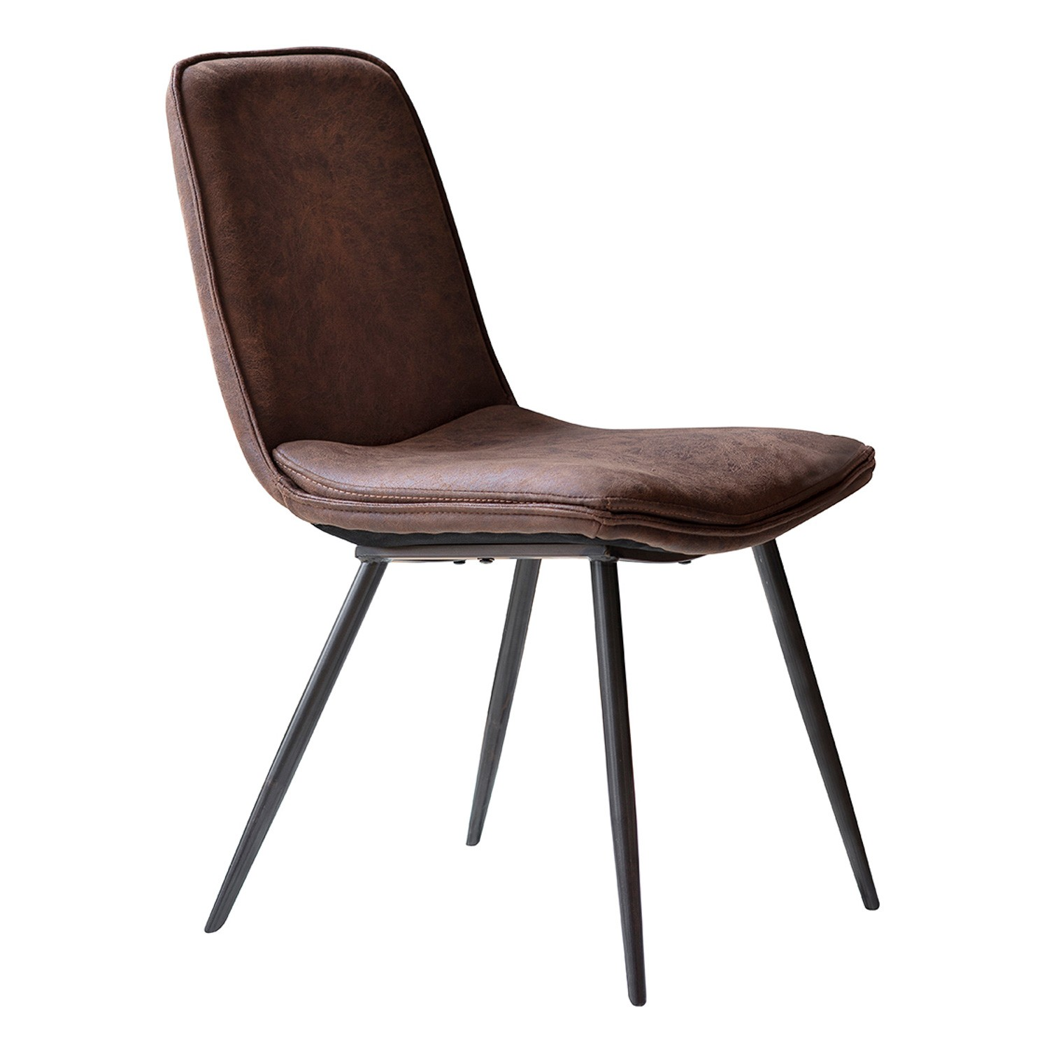 Naeem Faux Leather Dining Chair, Set of 2
