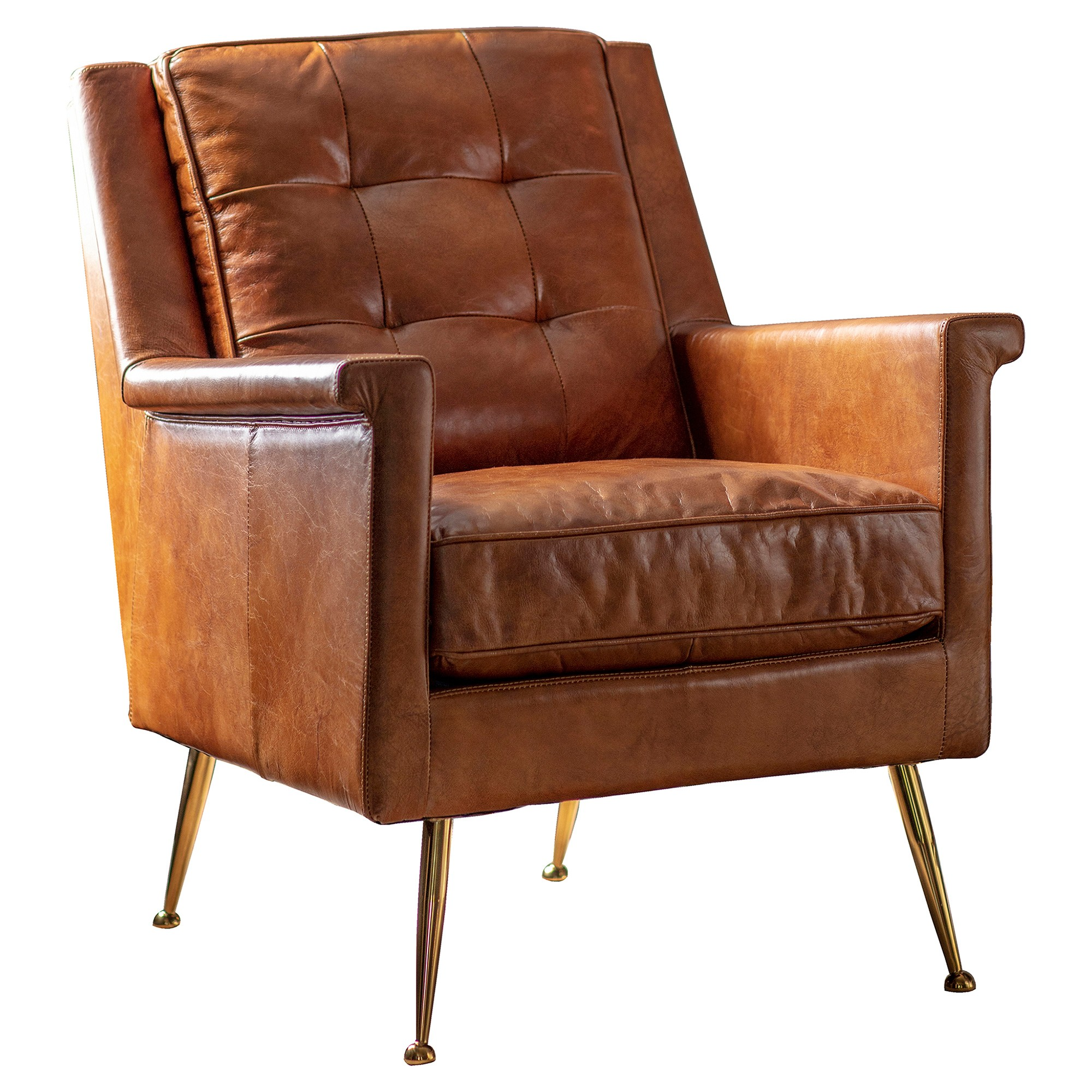 Malyn Leather Armchair