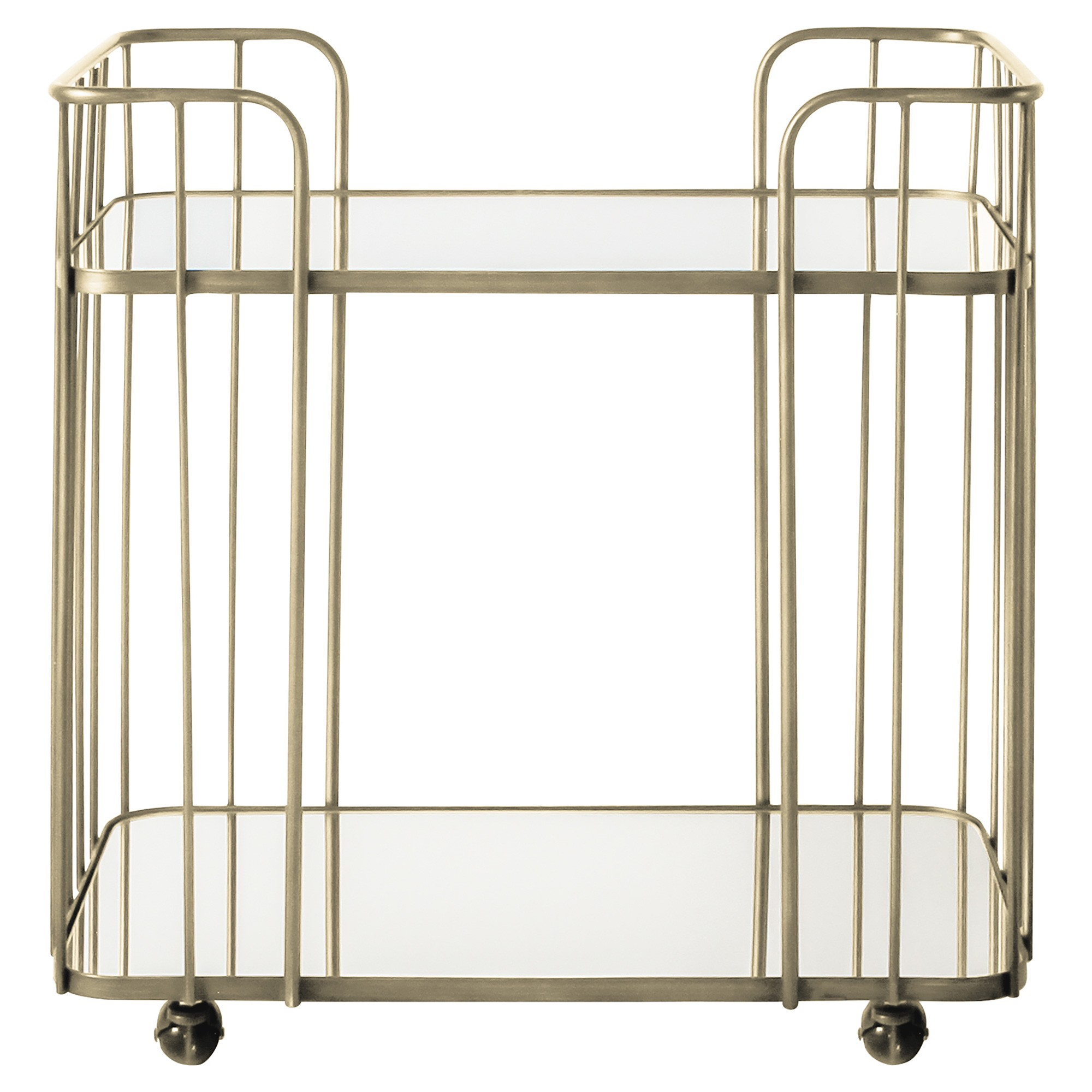 Verna Iron Drinks Trolley, Champagne Gold