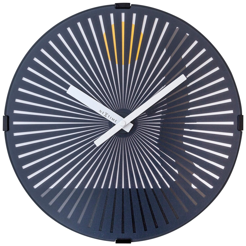 NeXtime Walking Man Motion Wall Clock, 30cm