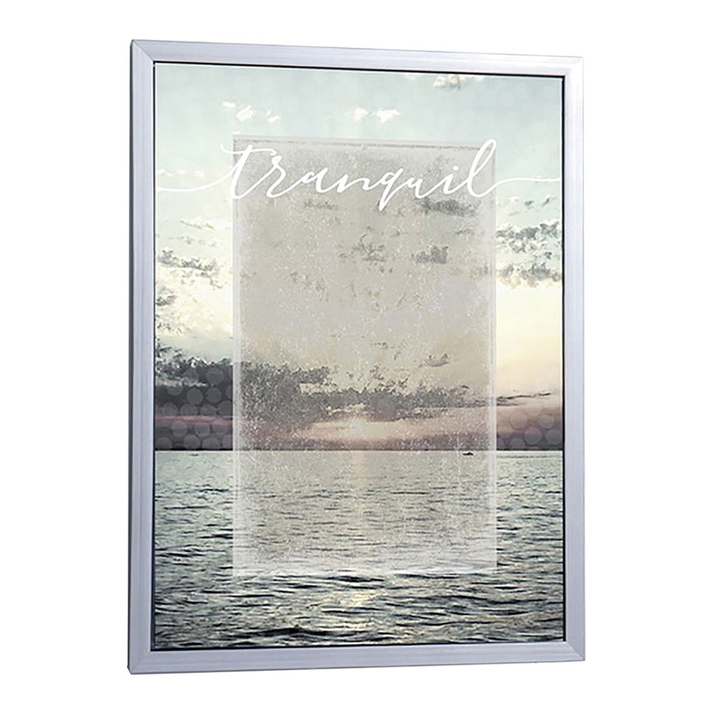 Tranquil Framed Canvas Wall Art, 60cm