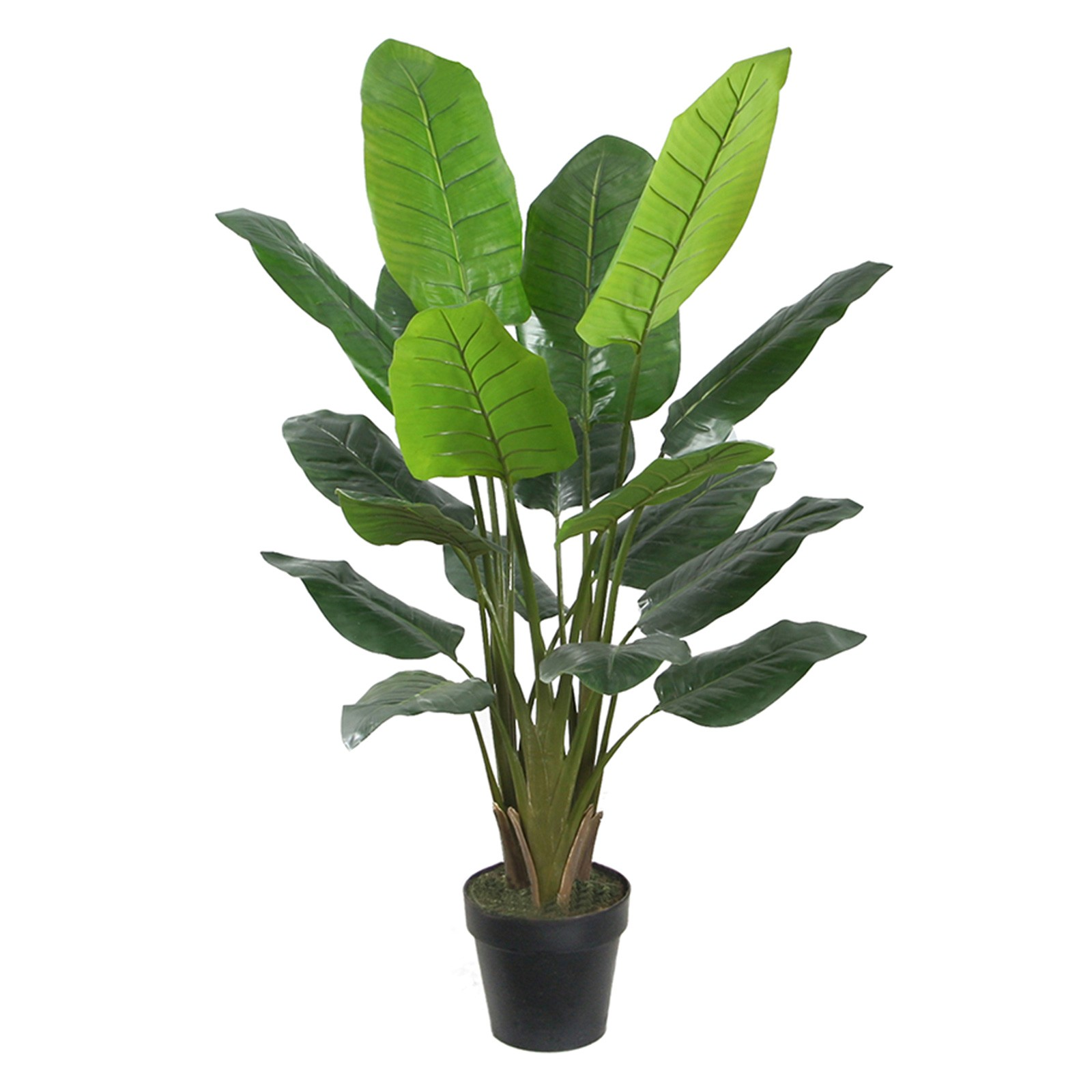 Potted Artificial Travellers Palm Tree, 139cm