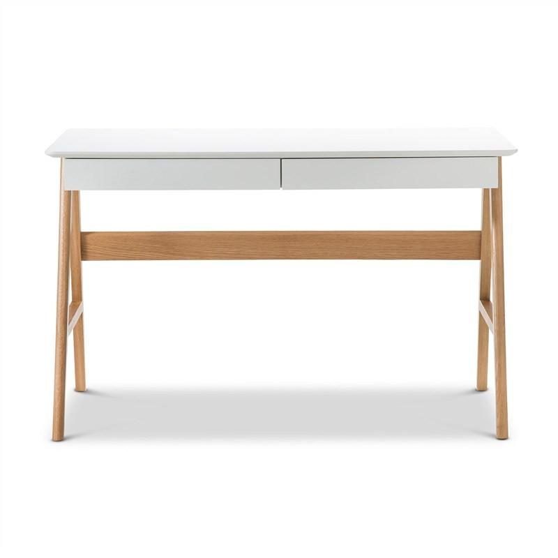 Storbo Retro Wooden 2 Drawer 120cm Desk