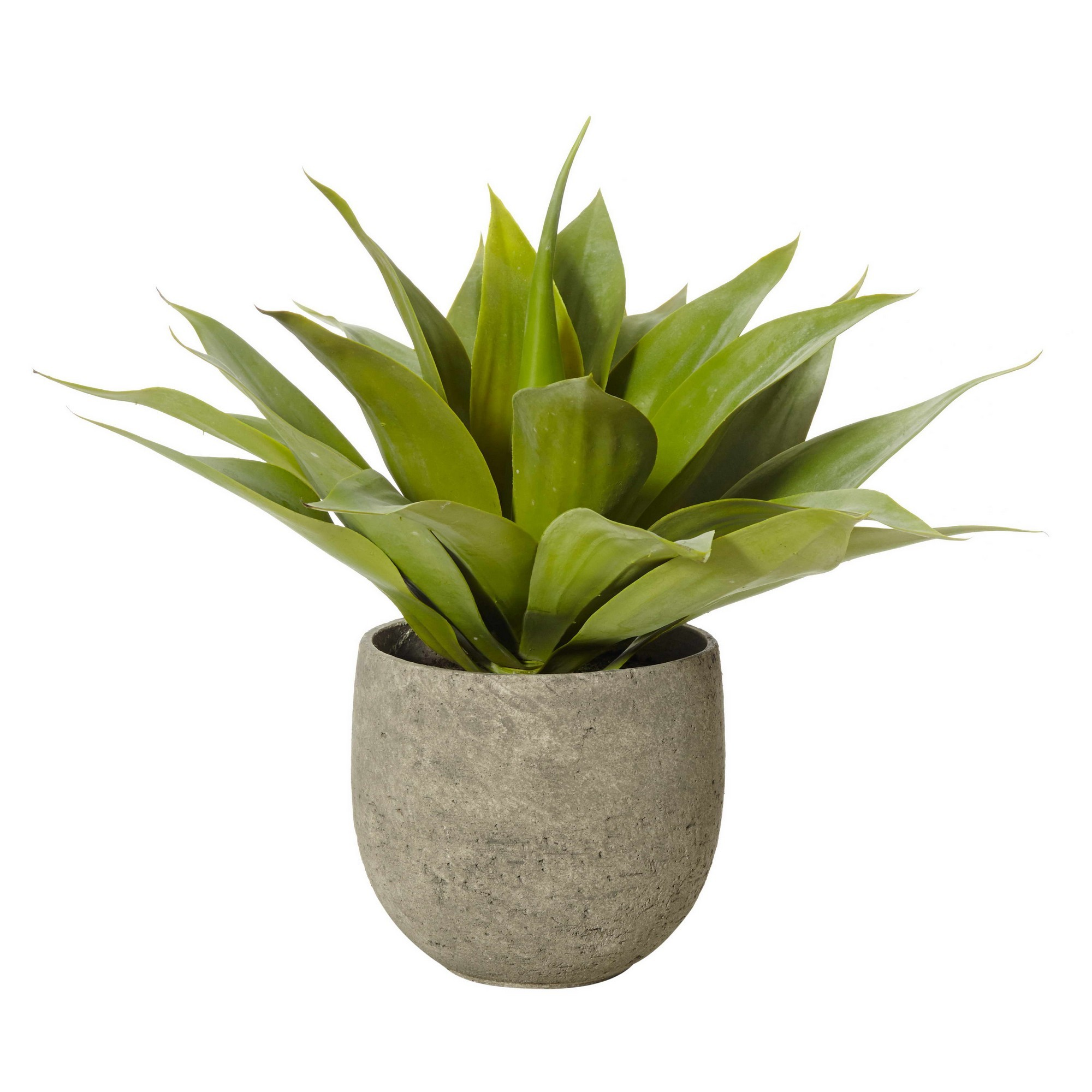 Artificial Agave Plant in Tub Pot, 48cm