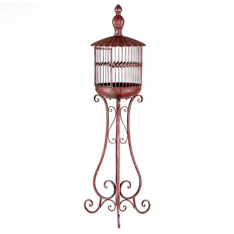 Federation Iron Birdcage Ornate Stand