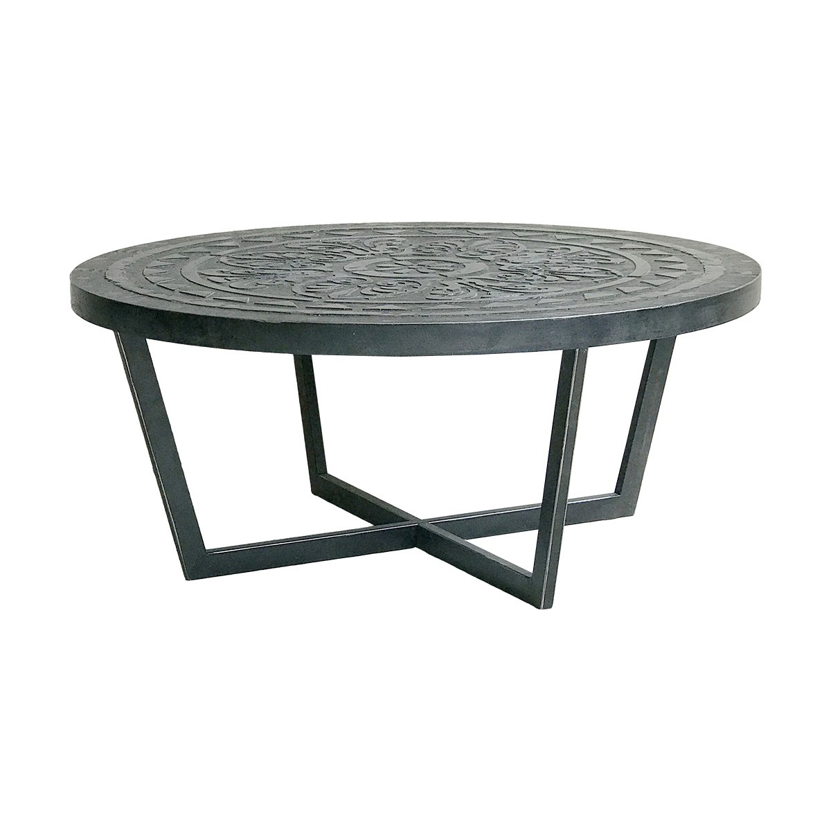 Havannah Round Coffee Table, 80cm