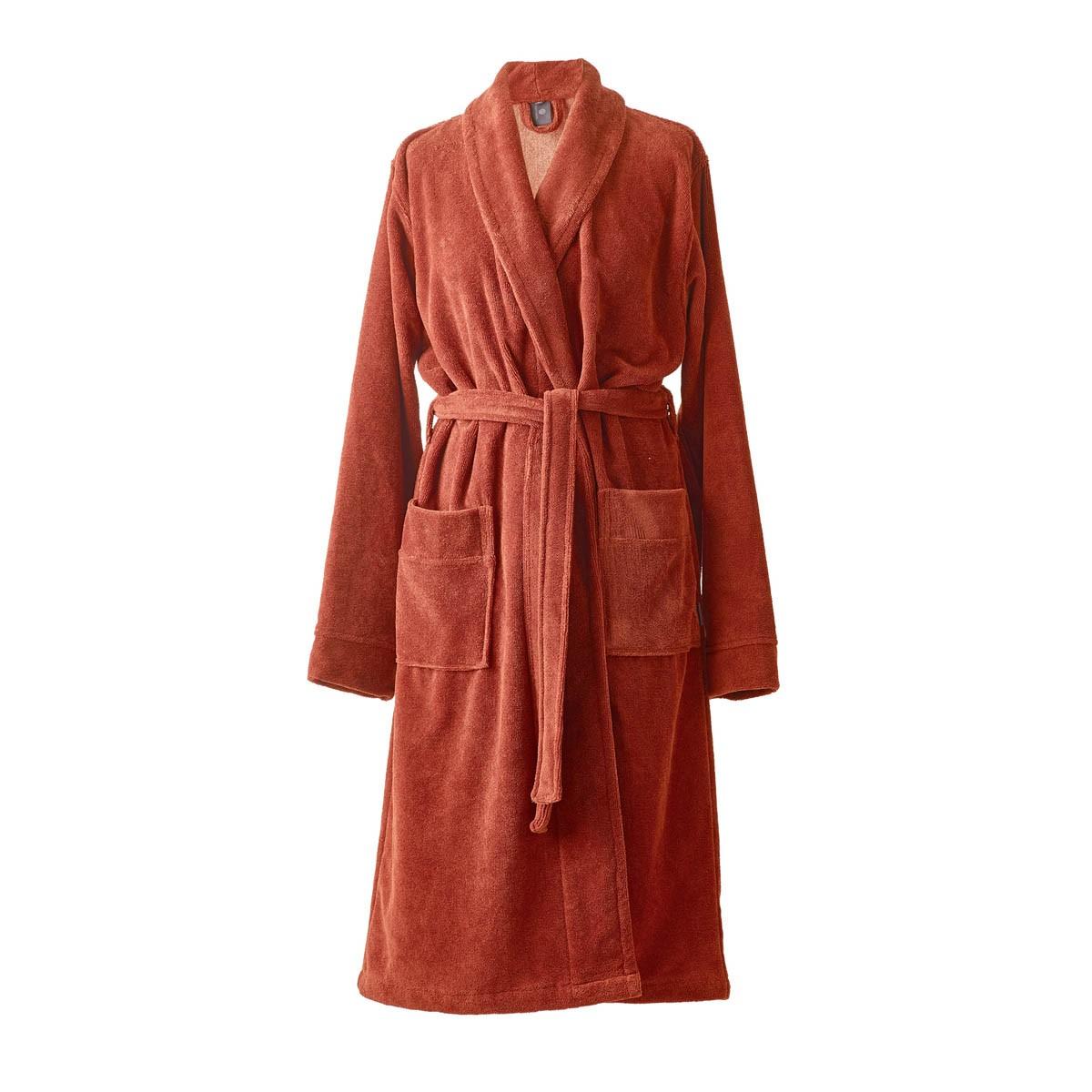 Aquanova Einar Bath Gown, Medium, Brandy