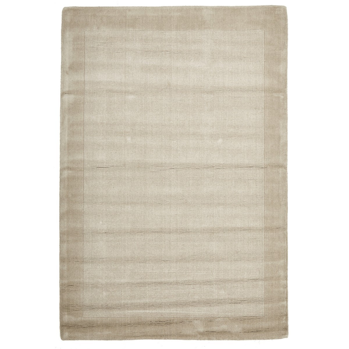 Luxe Hand Tufted Wool Rug, 320x230cm, Bone