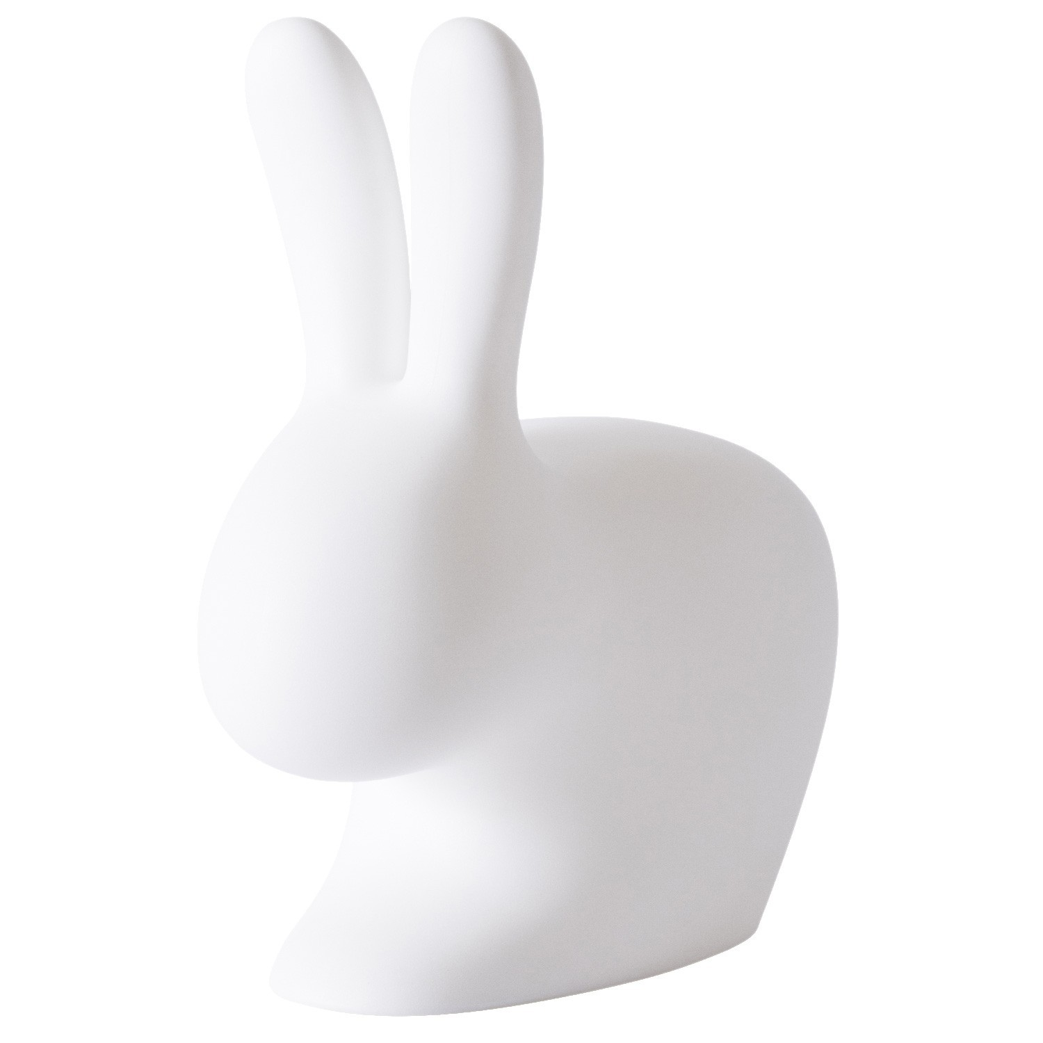 Qeeboo Rabbit Rechargeable LED Lamp, Large, White
