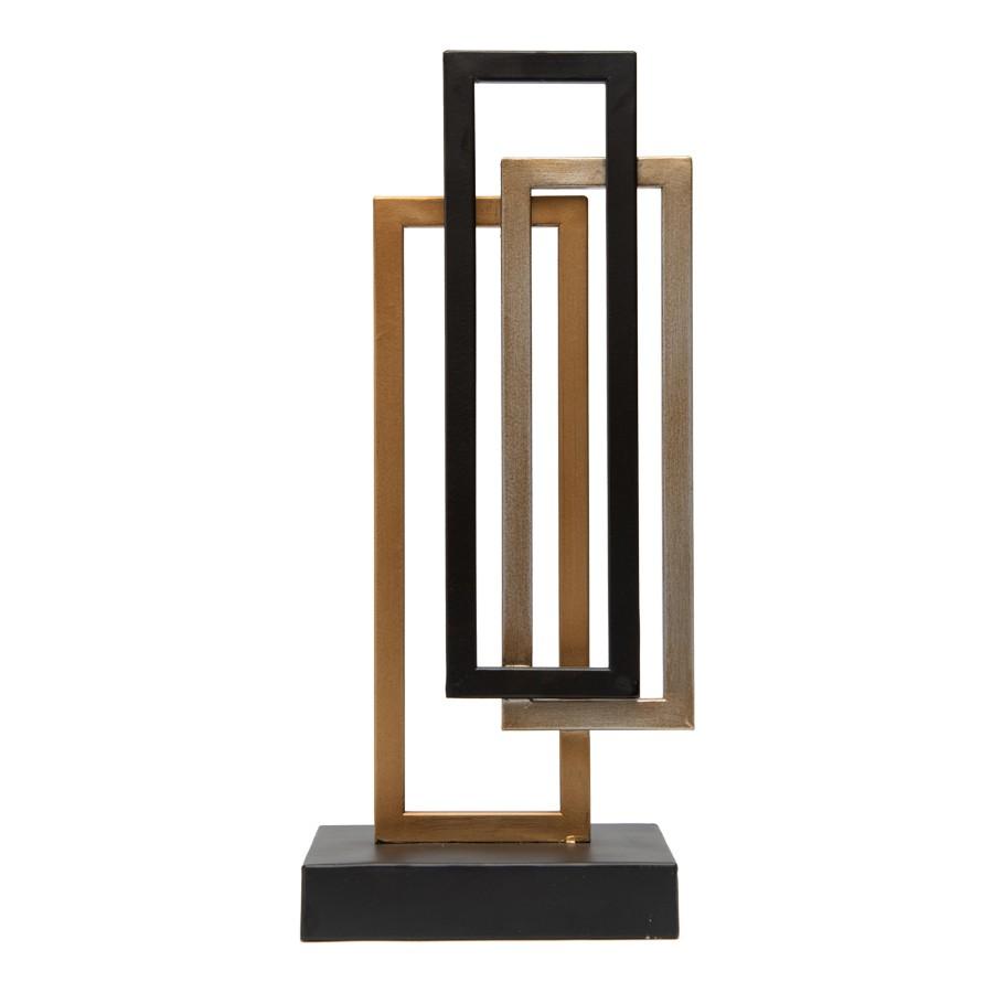 Tobia Metal Centrepiece Sculpture, Small