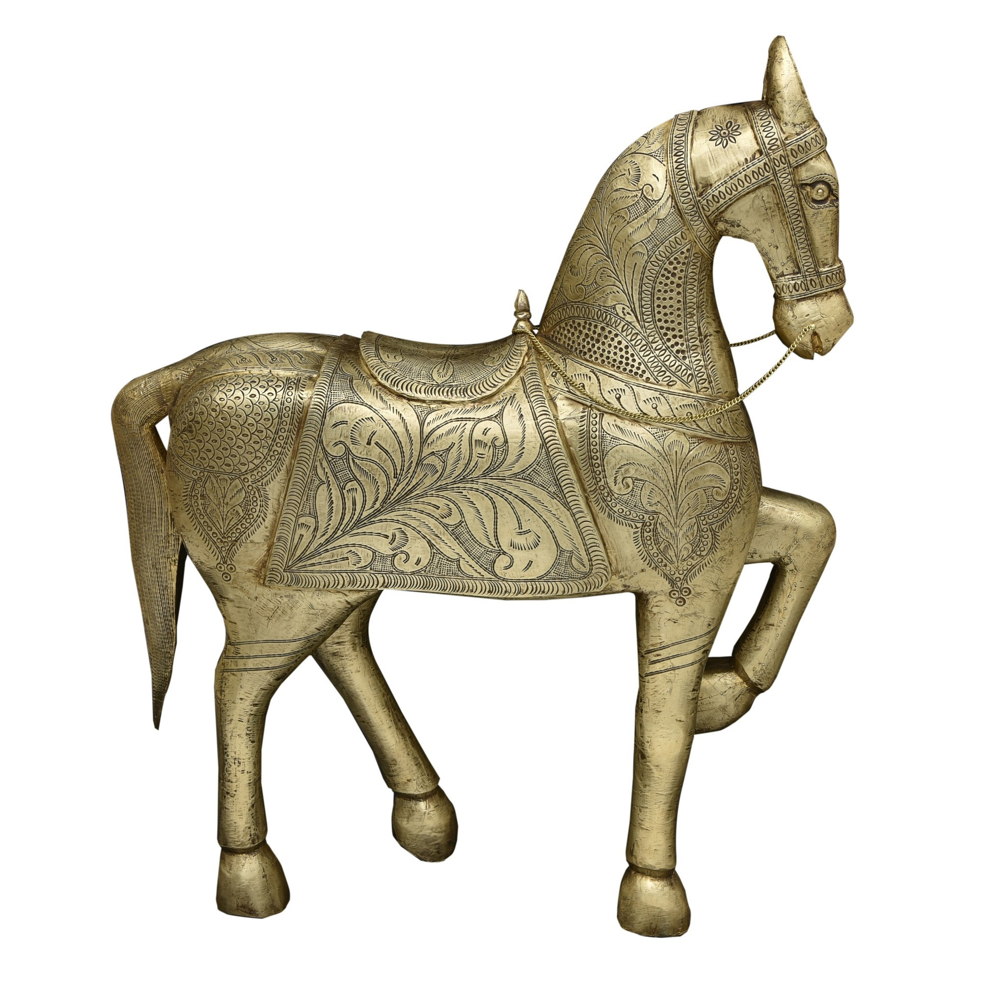 Rosseman Handcrafted Metal Horse Sculpture