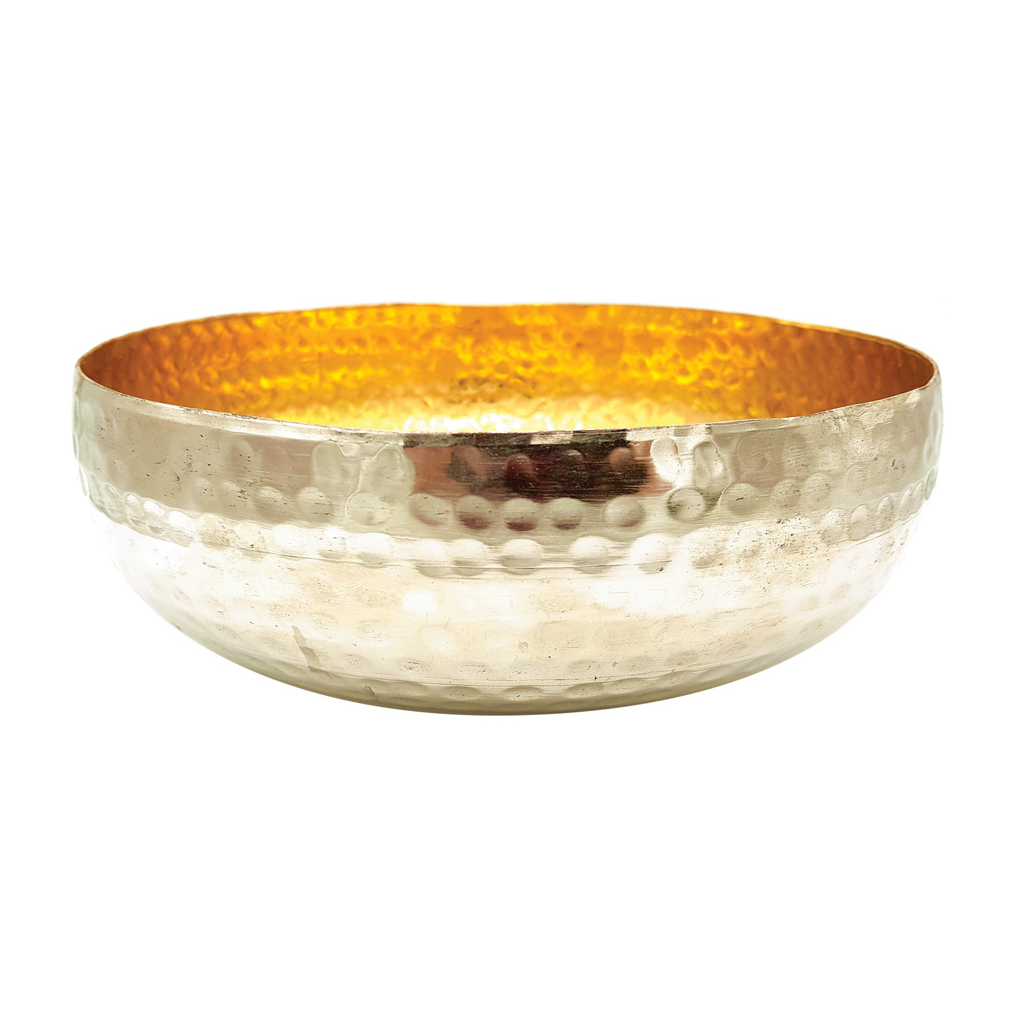 Sirium Hammered Metal Bowl