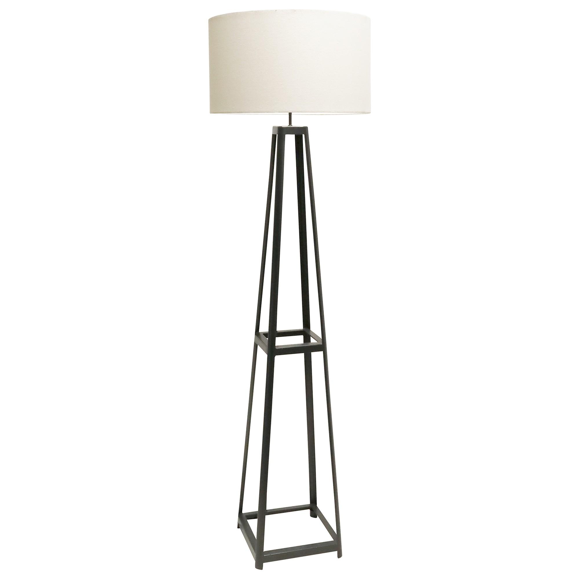 Zenith Metal Base Floor Lamp