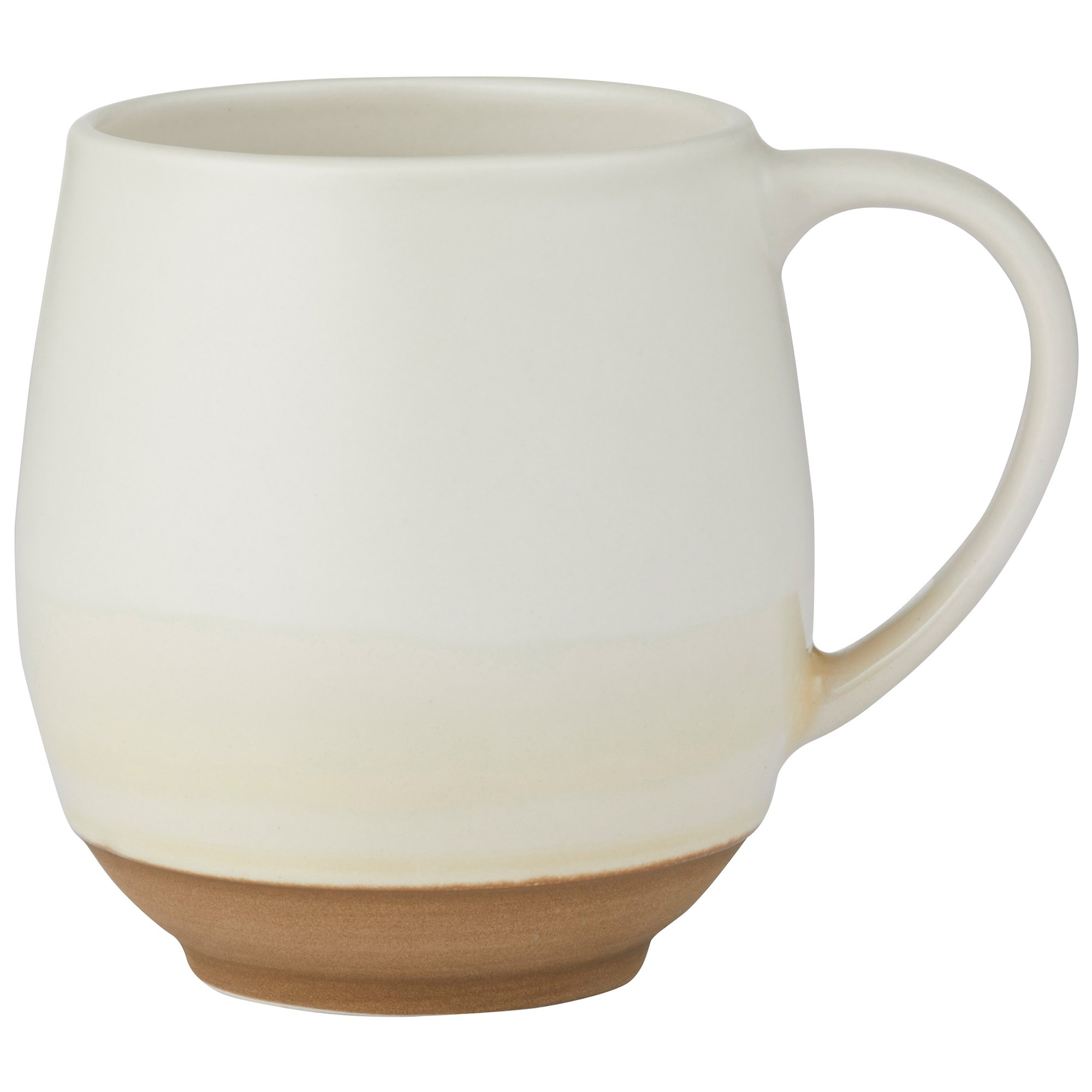 Moss Ceramic Mug, Cream