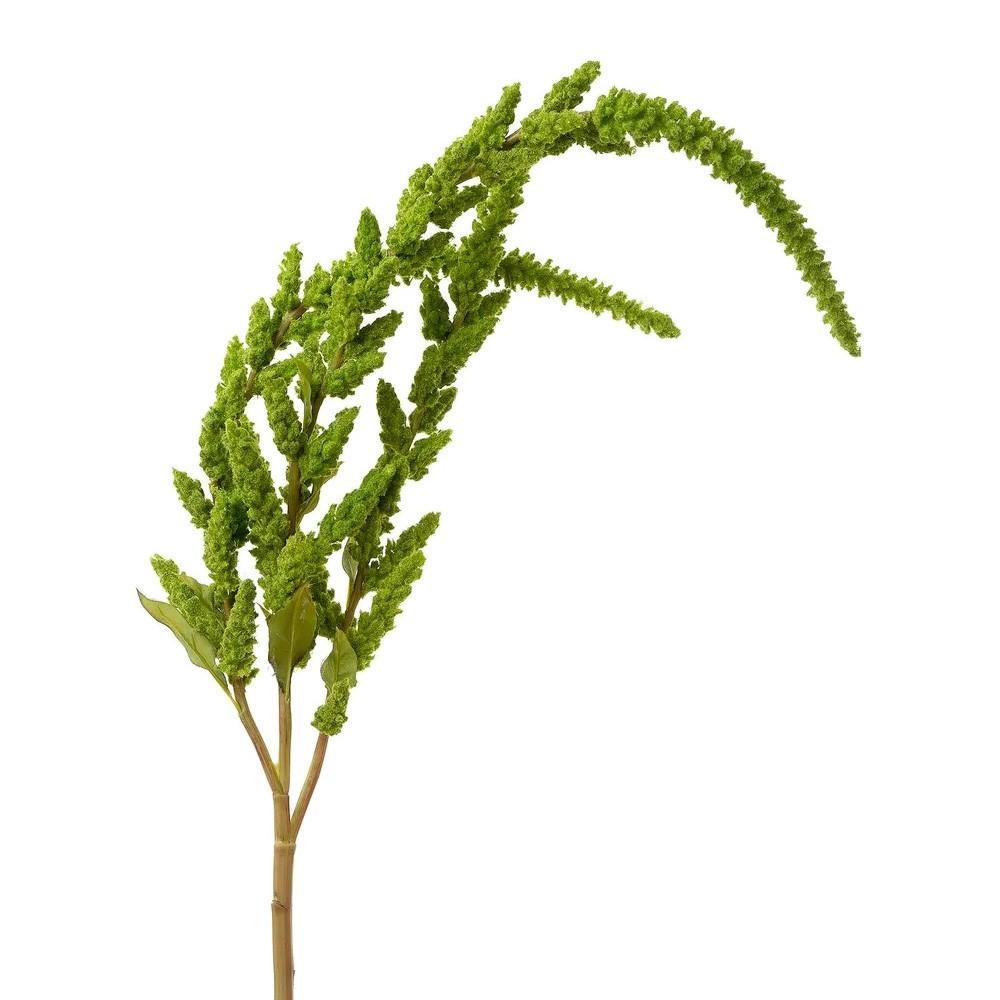Artificial Amaranthus Stem, 90cm, Green