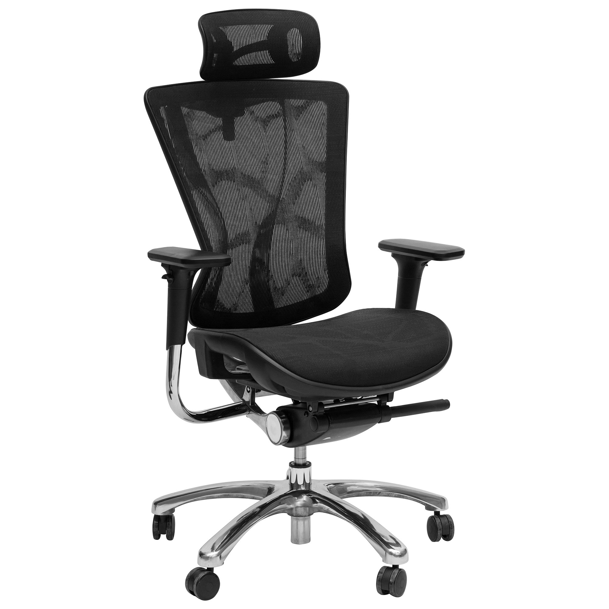 Alma Adjustable Mesh Fabric Executive Office Chair