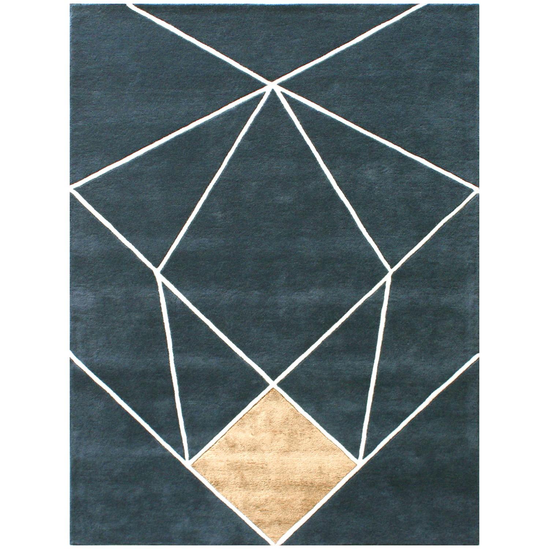 Aurum Modern Wool Rug, 240x170cm