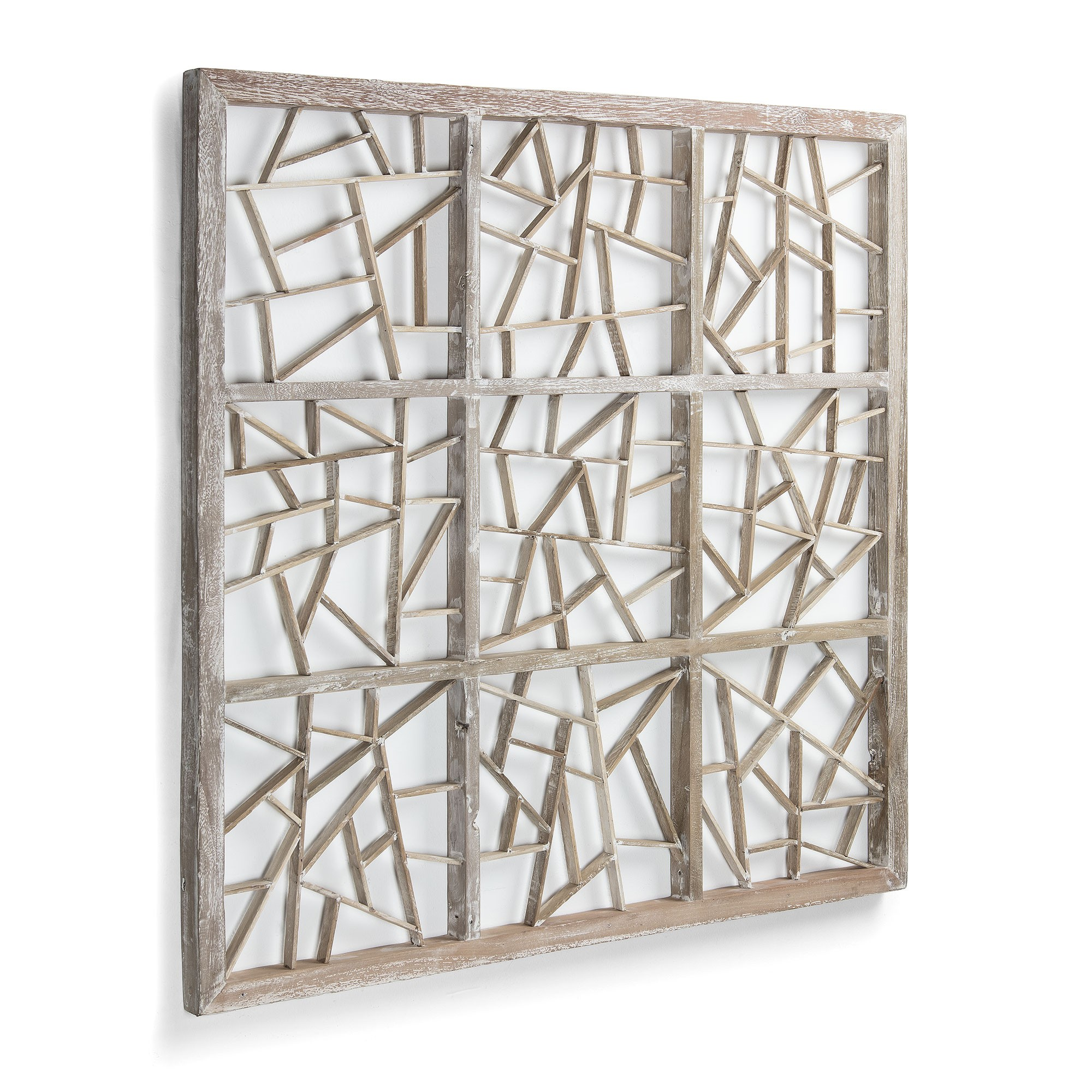 Evie Recycled Timber Wall Art, 100cm