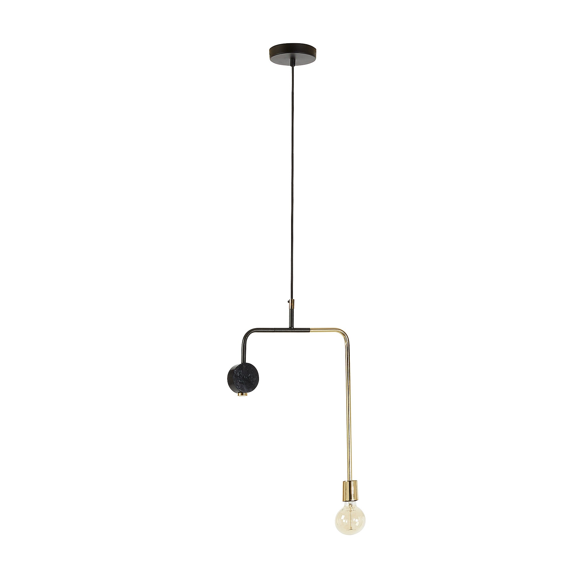 Welton Metal Pendant Light, 35cm